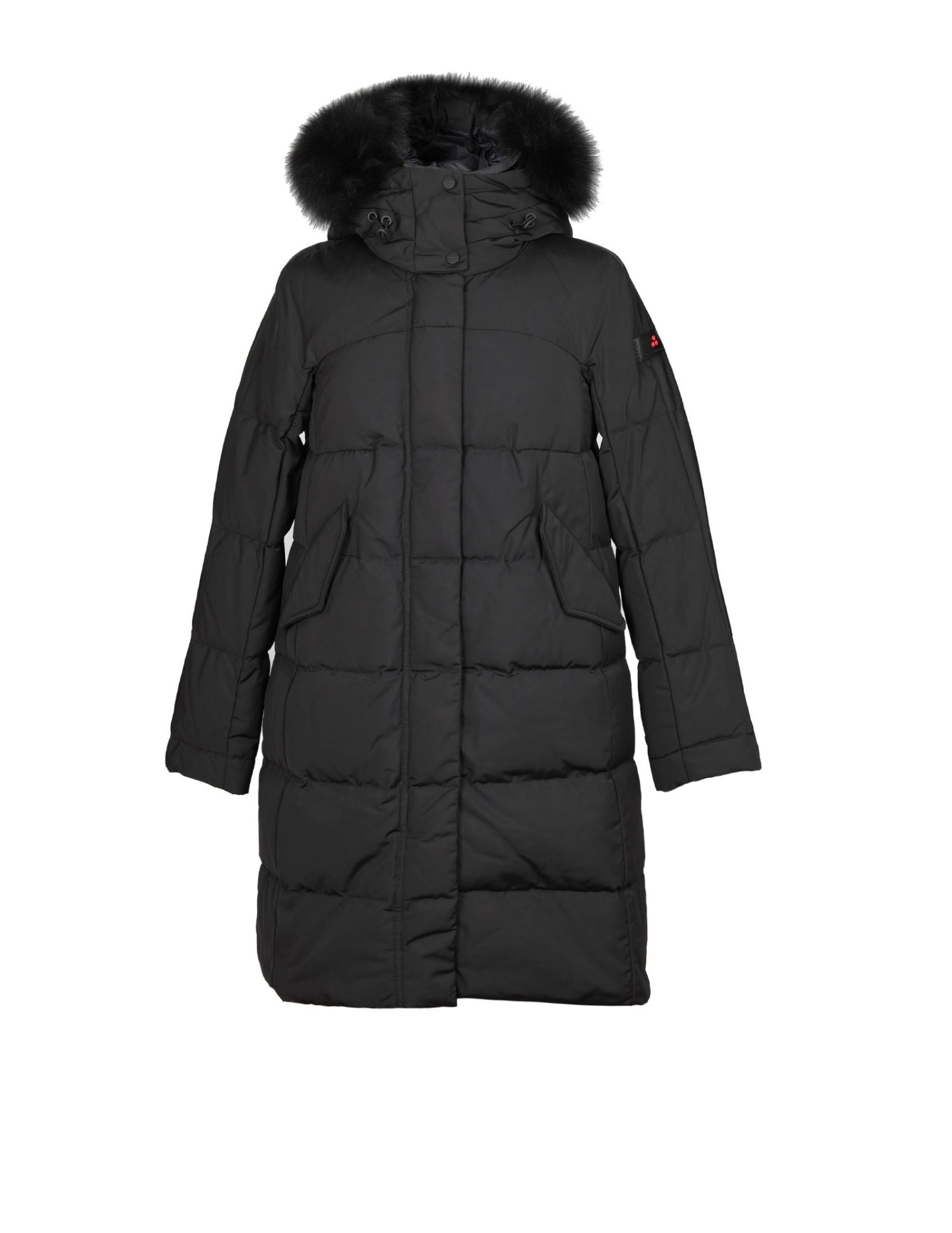 Peuterey OLONG QUILTED PARKA COLOR BLACK