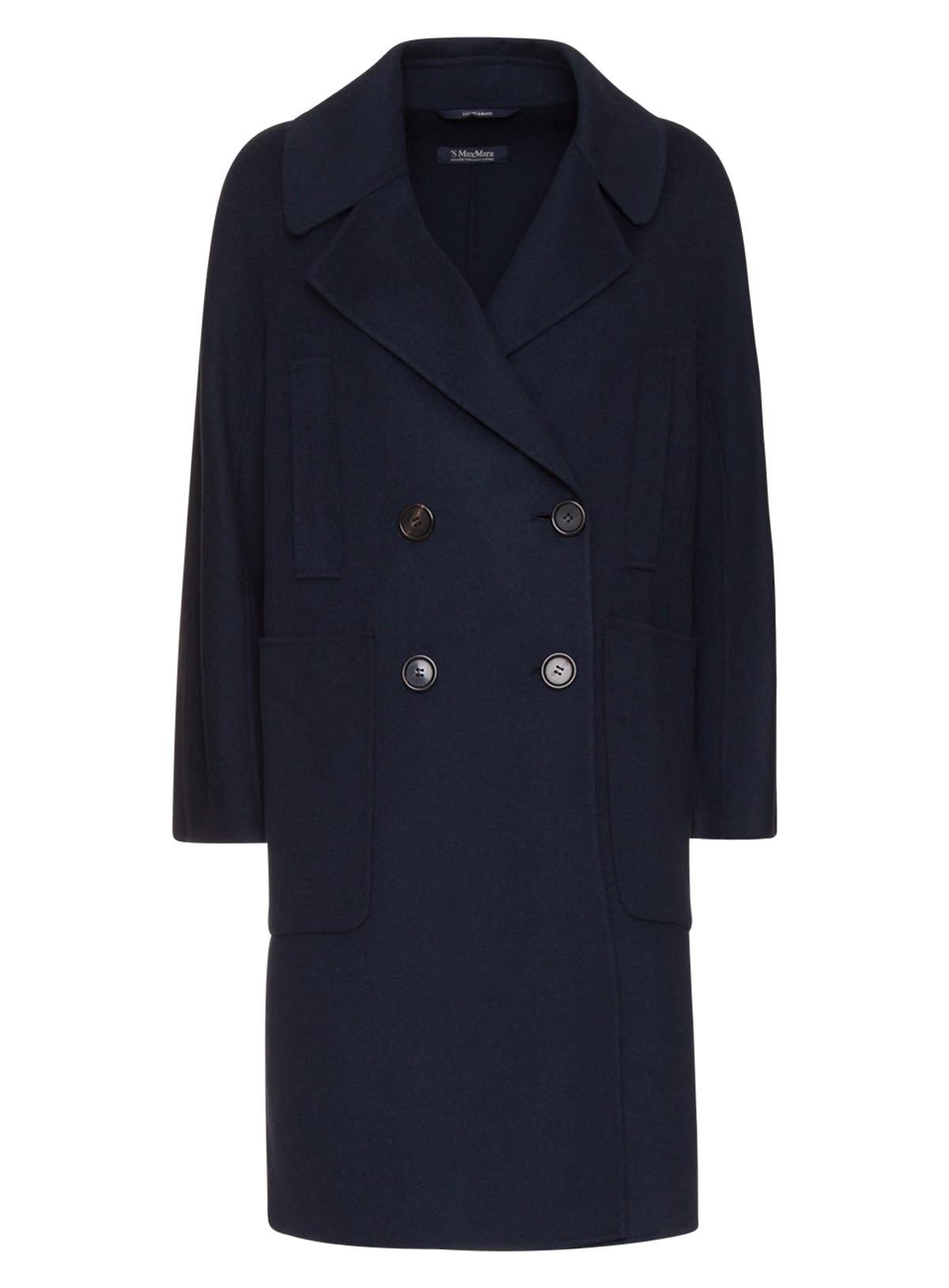 Max Mara Aronaci Wool Pea Coat