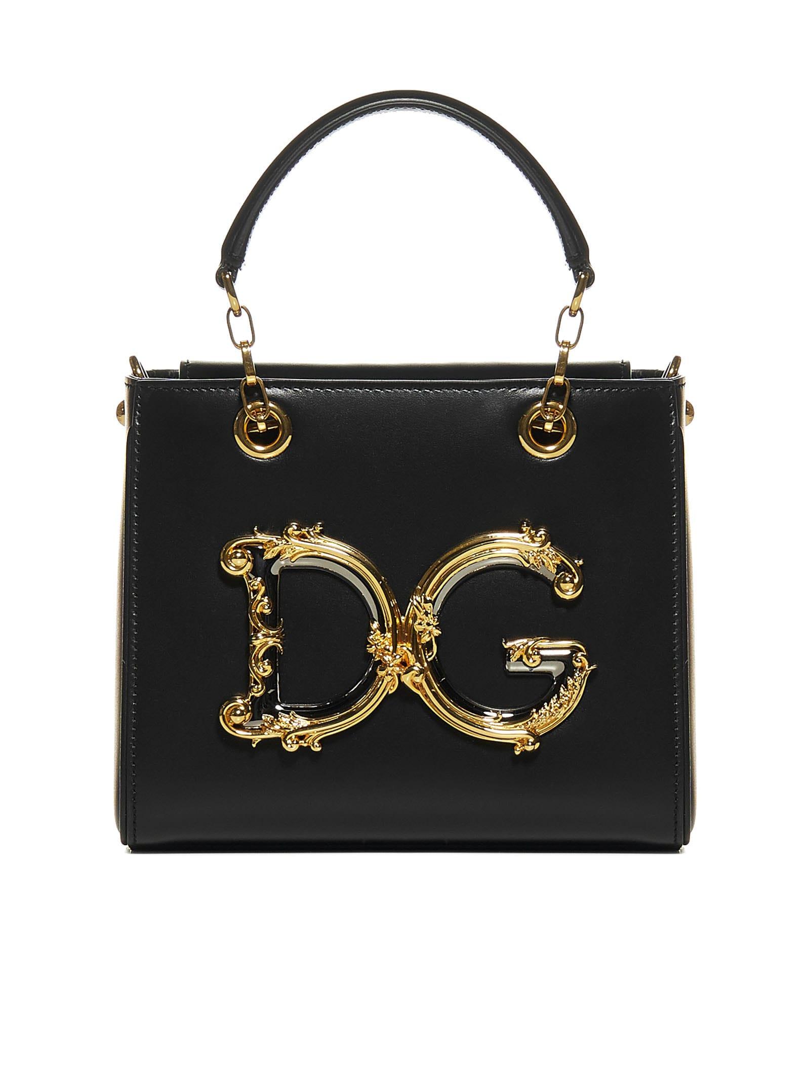 Dolce & Gabbana Tote In Nero