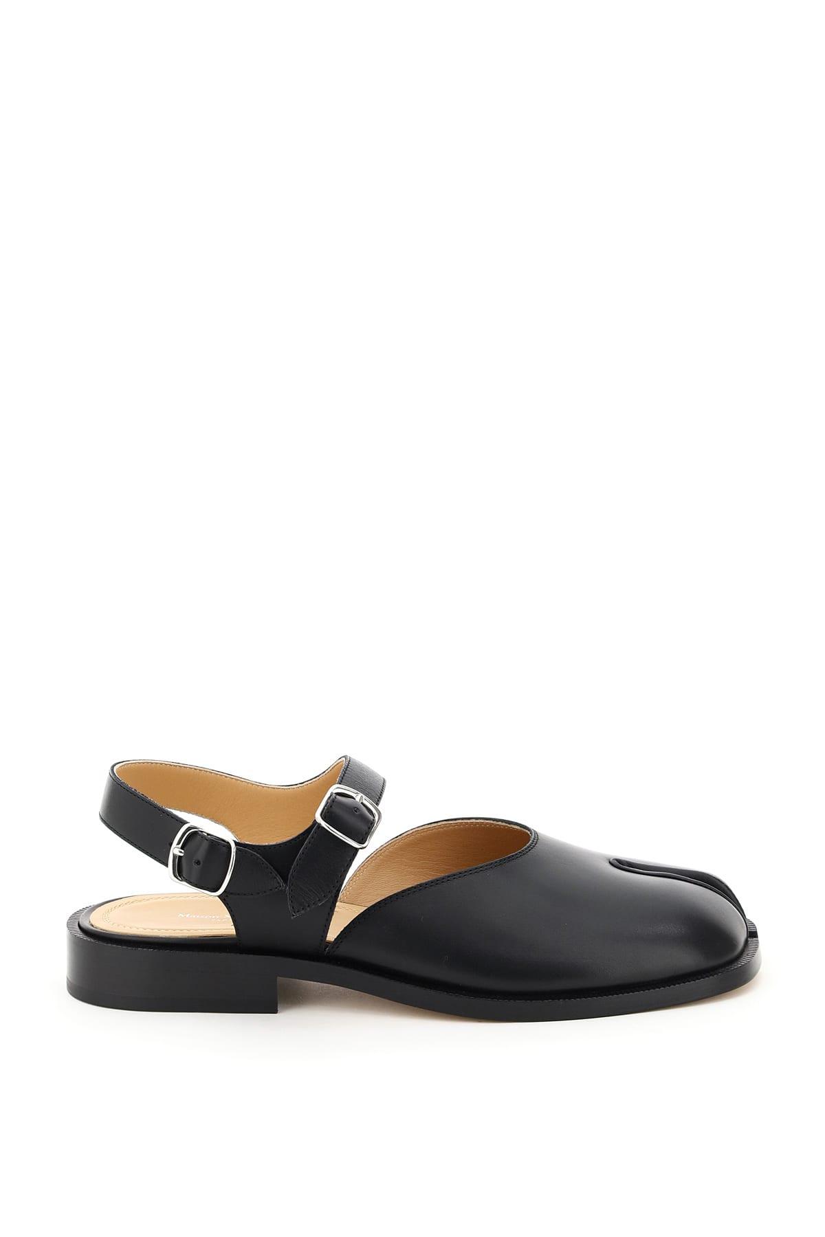 Maison Margiela Sandals TABI LEATHER SANDALS