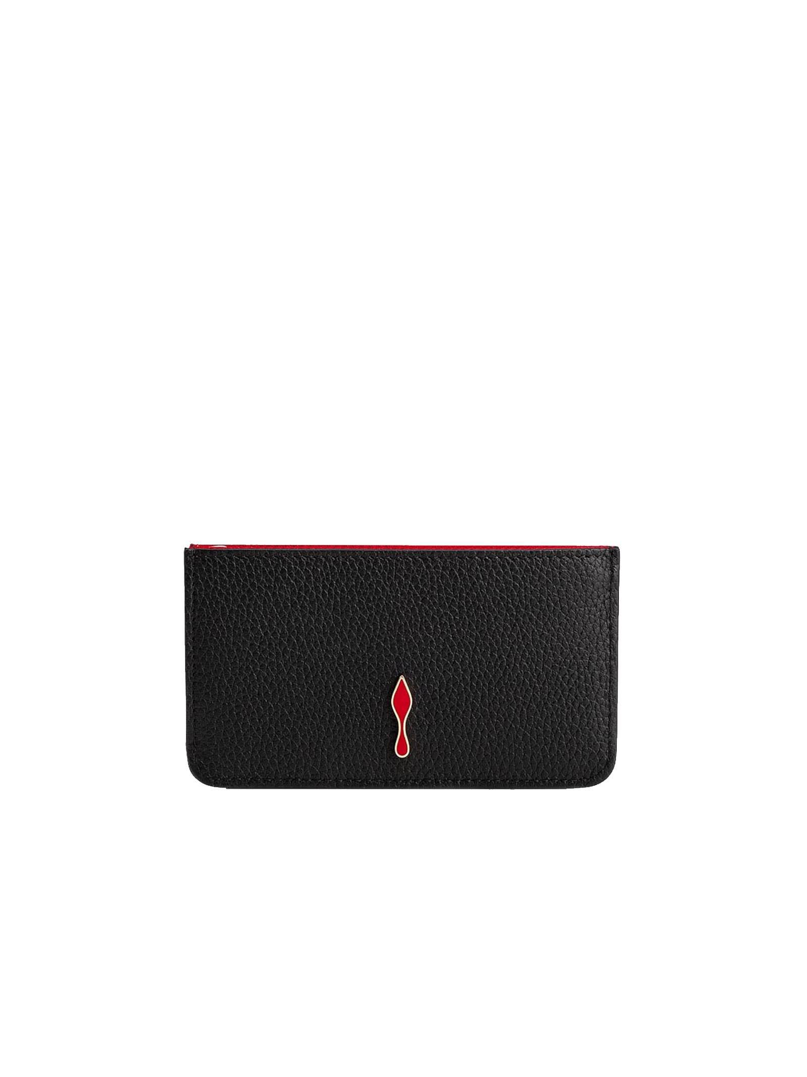 Christian Louboutin Christian Louboutin Black Leather Wallet