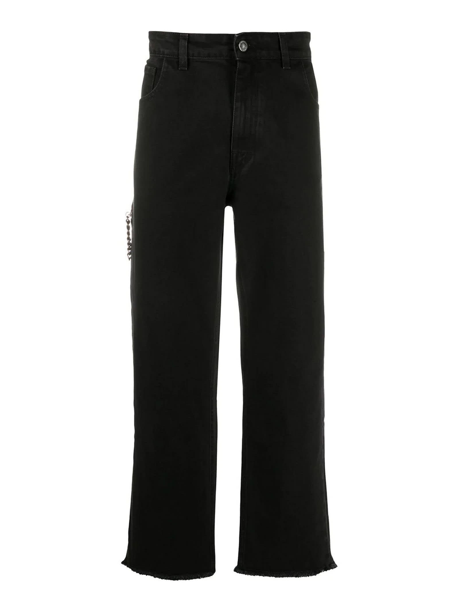 Raf Simons Black Cotton Jeans