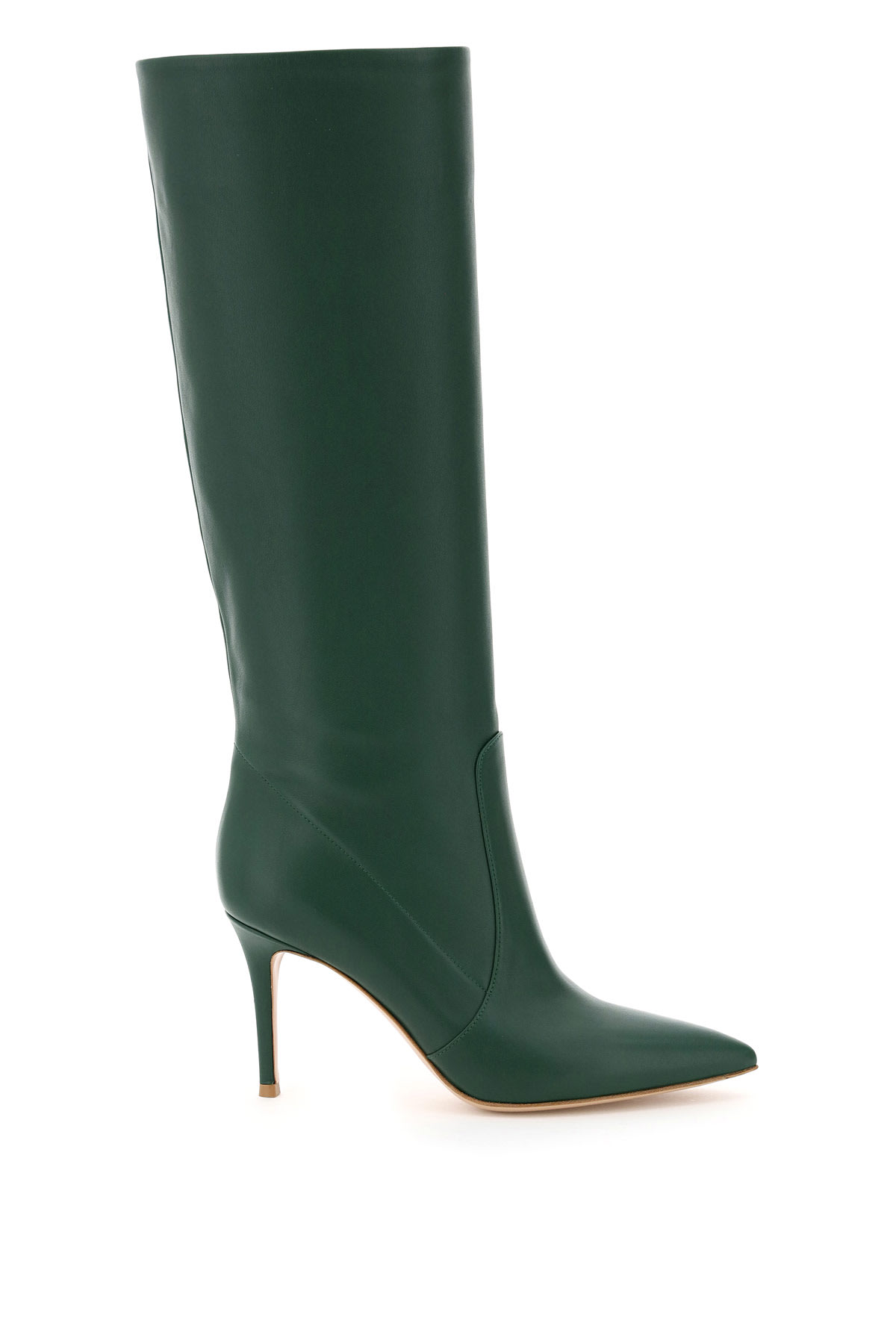 Gianvito Rossi LEATHER HEELED BOOTS