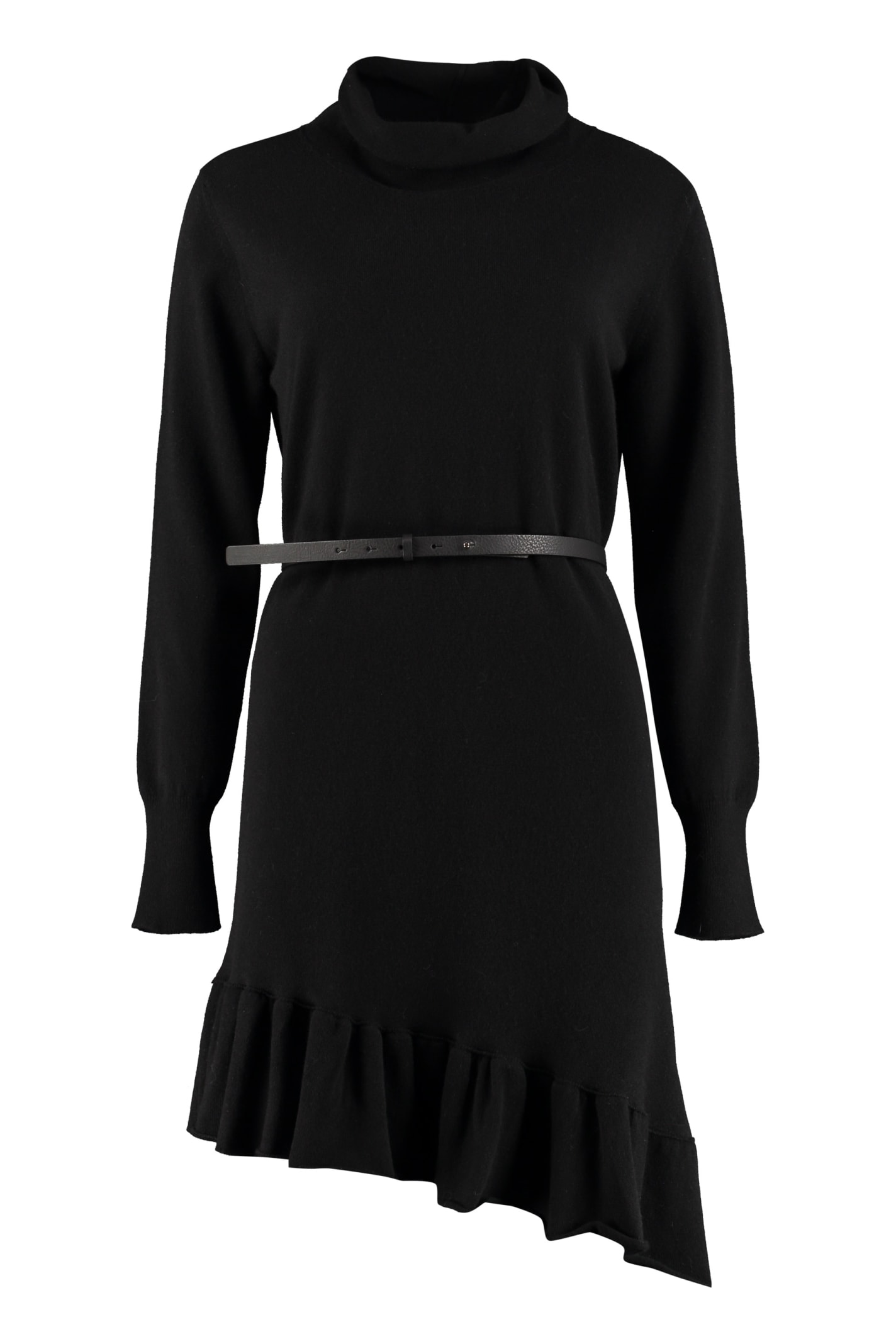 Buy Fabiana Filippi Belted Knit Dress online, shop Fabiana Filippi with free shipping