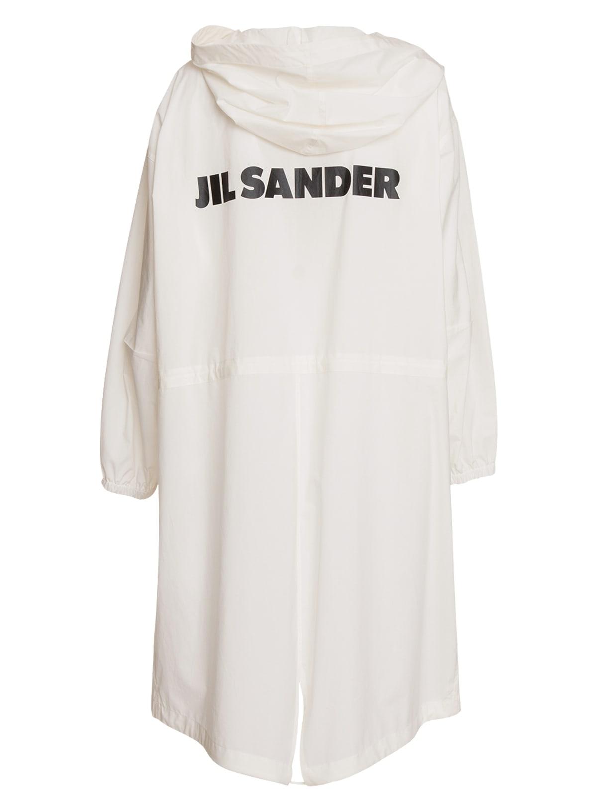 Jil Sander Hooded Raincoat