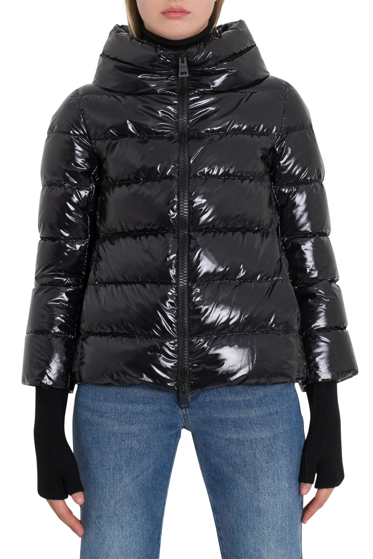Herno Down Jacket With Glove Sleeves