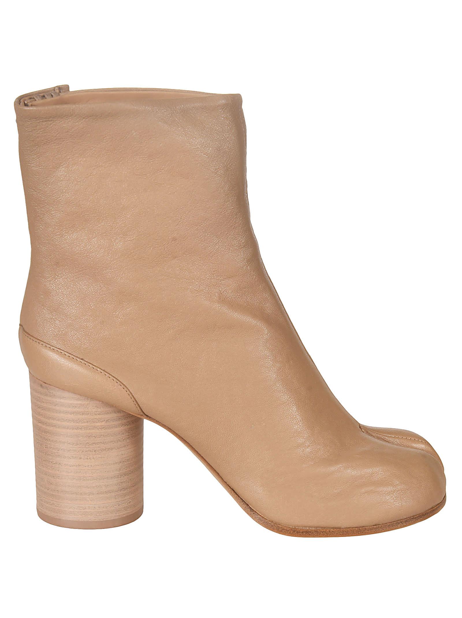 Buy Maison Margiela Block Heel Boots online, shop Maison Margiela shoes with free shipping