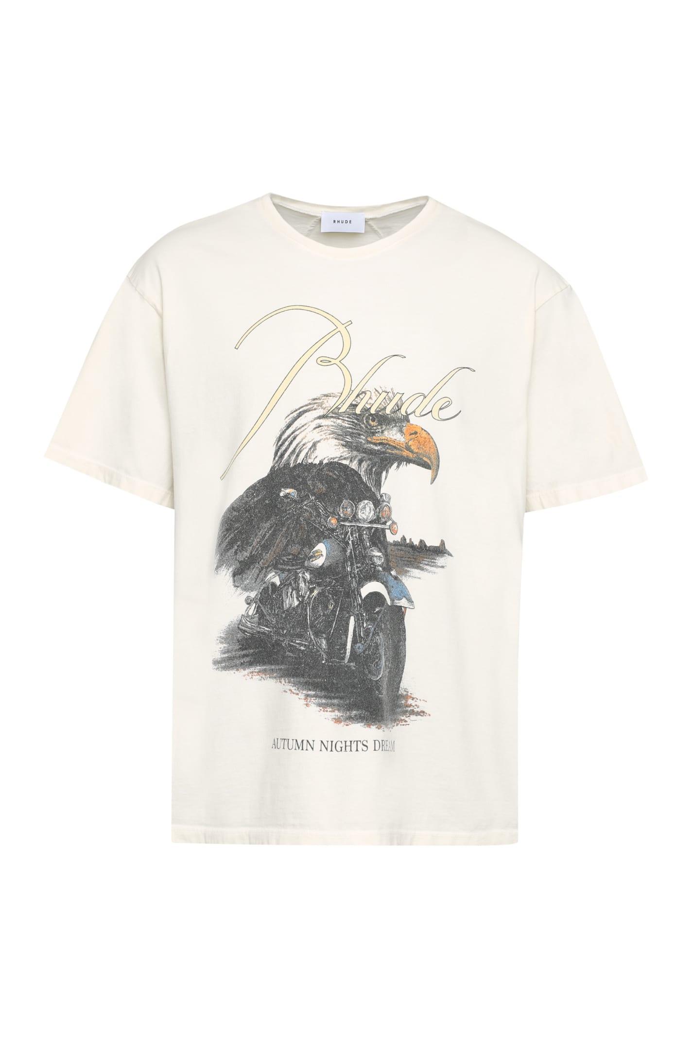 Rhude Cotton Crew-neck T-shirt