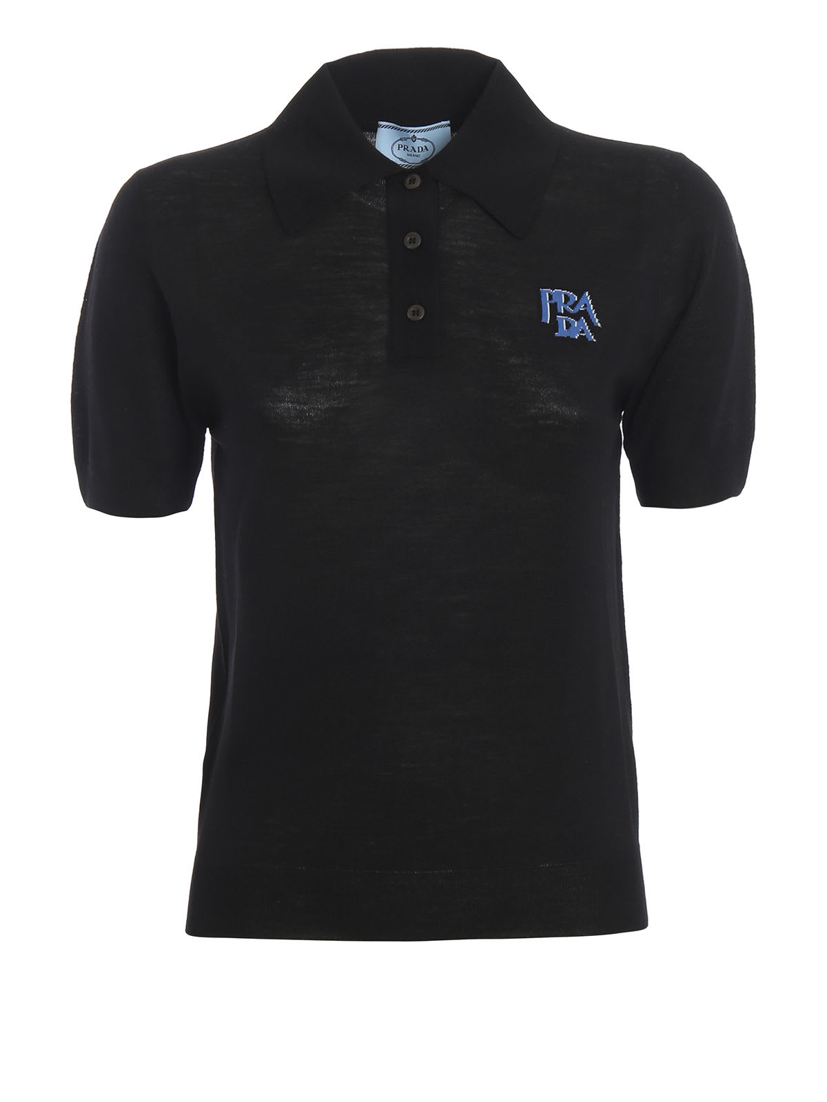 Prada T-shirts Prada Logo Polo Shirt