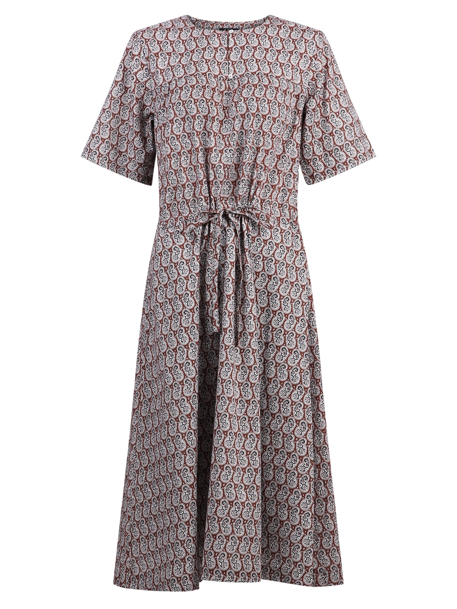 Buy A.P.C. Paisley-print Dress online, shop A.P.C. with free shipping