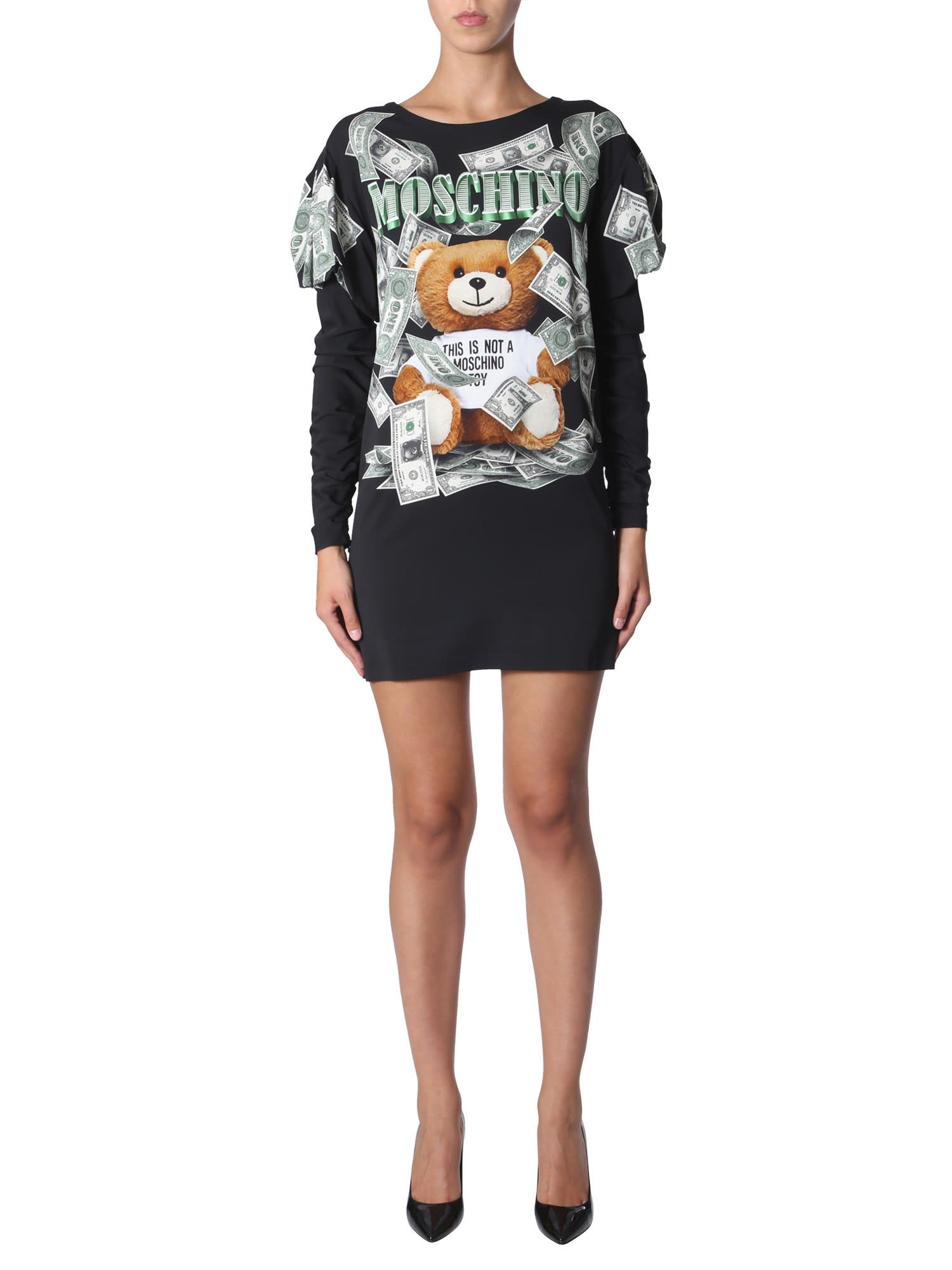 Moschino Dollar Teddy Bear Dress