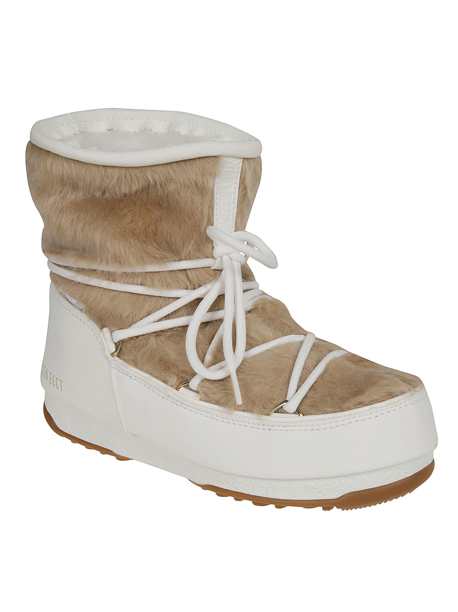 online retailer 6c77d 4de73 Best price on the market at italist   Moon Boot Moon Boot Monaco Low Fur  Moon Boots