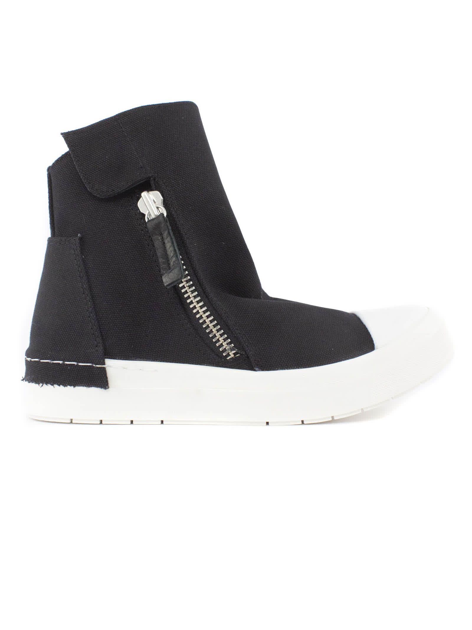 Black Canvas High Top Sneakers