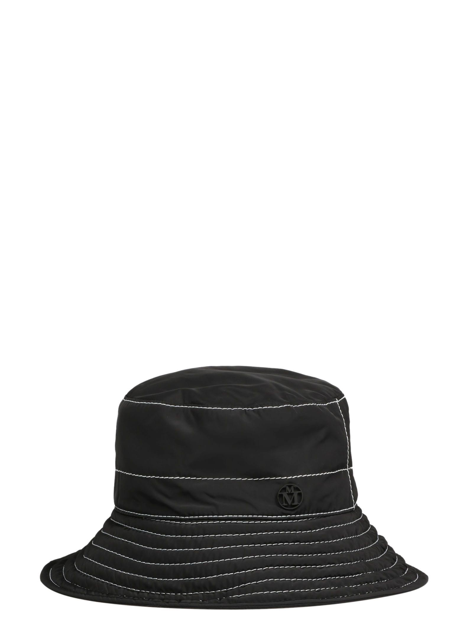 Maison Michel Hats CHARLOTTE 20PF TOPSTITCHED