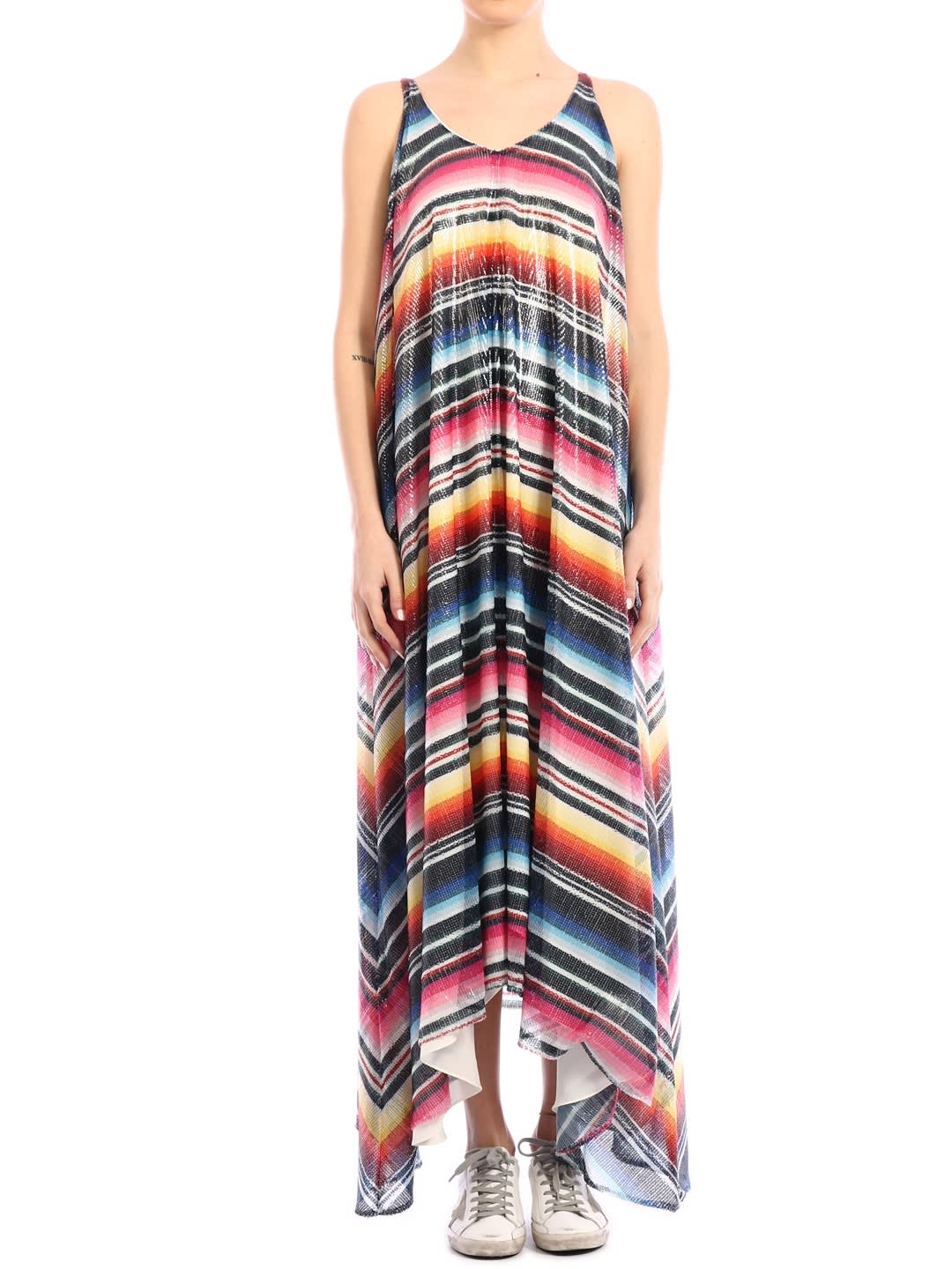 Buy Alanui Sarape Maxi Dress online, shop Alanui with free shipping