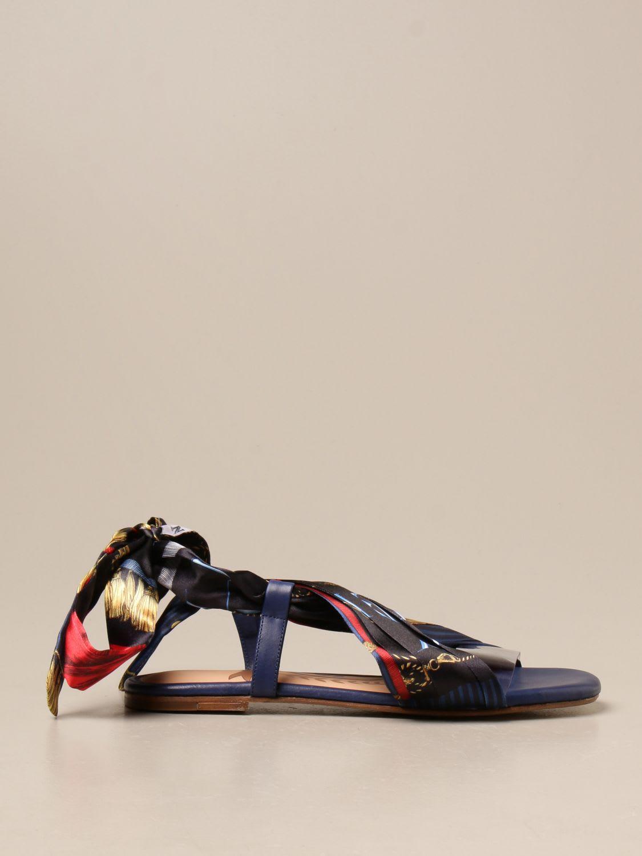Hilfiger Collection Flat Sandals Shoes Women Hilfiger Collection