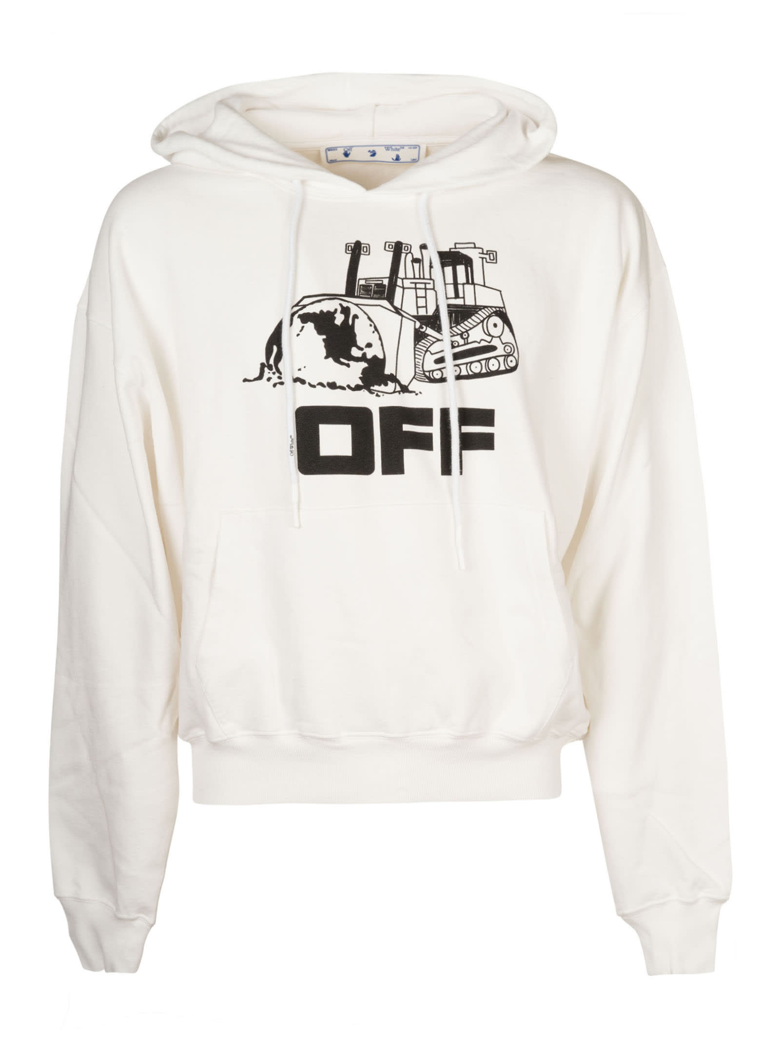 Off-White Cottons WORLD CATERPILLAR OVER HOODIE