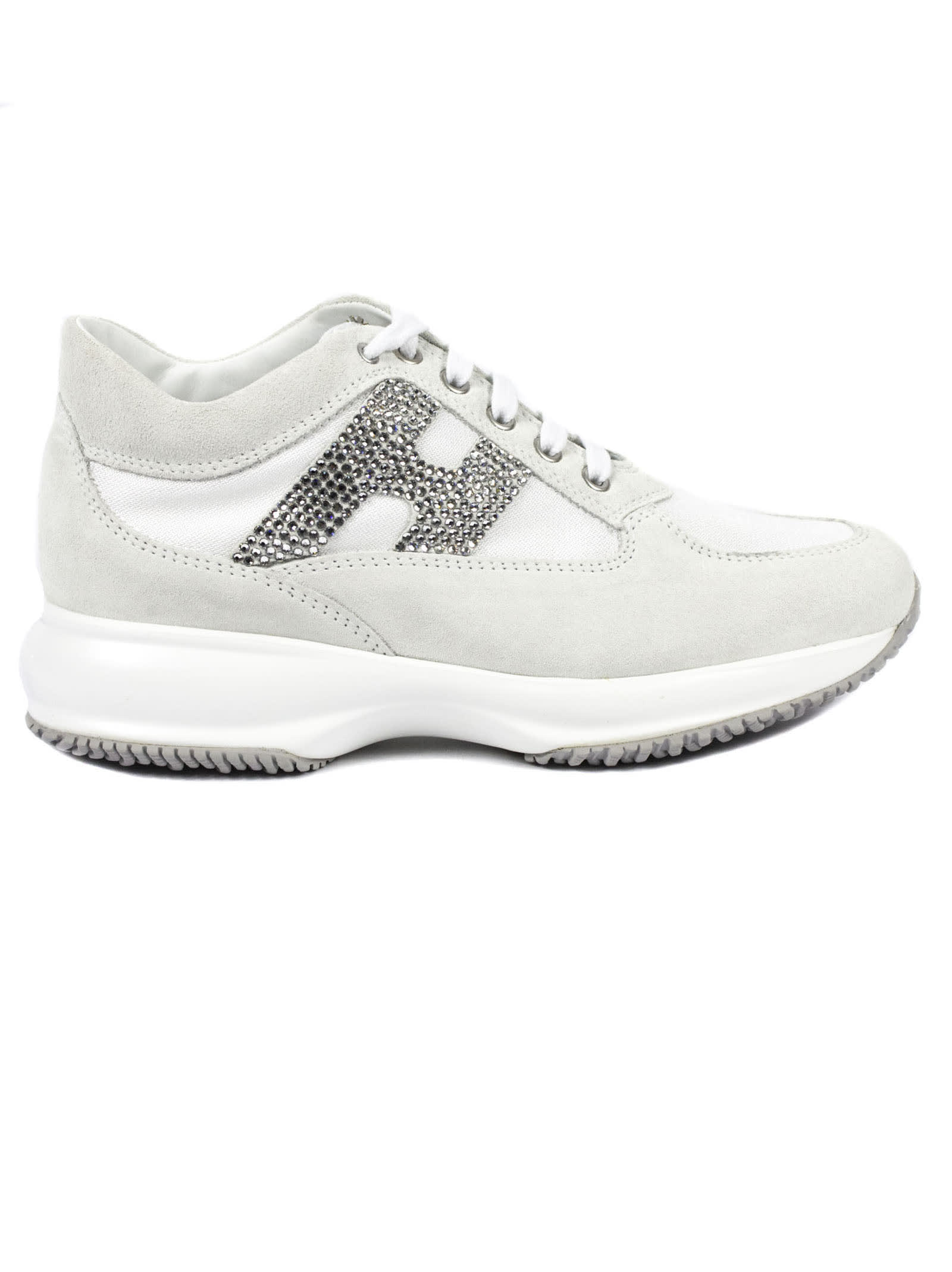 Hogan White Interactive Sneakers