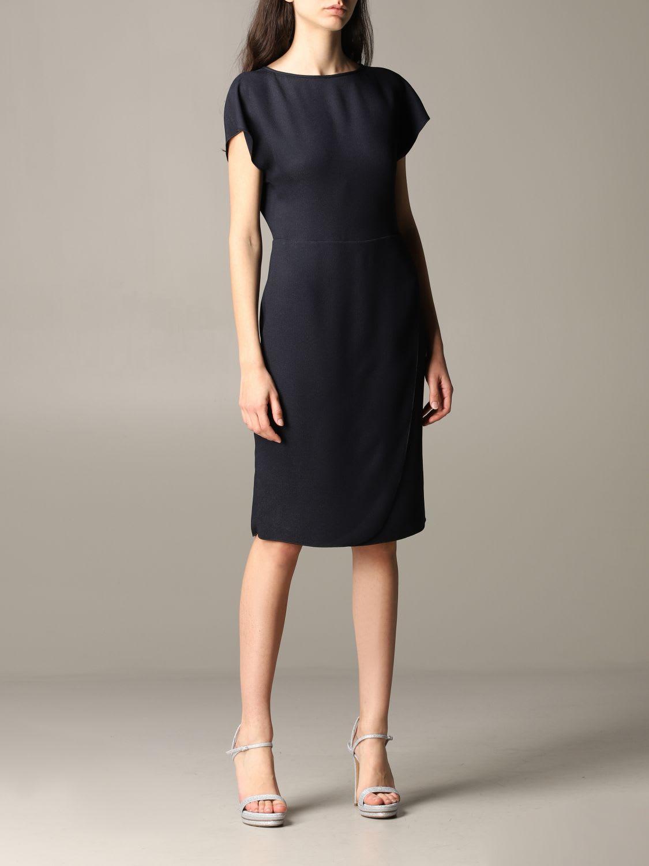 Buy Emporio Armani Dress Emporio Armani Classic Dress online, shop Emporio Armani with free shipping