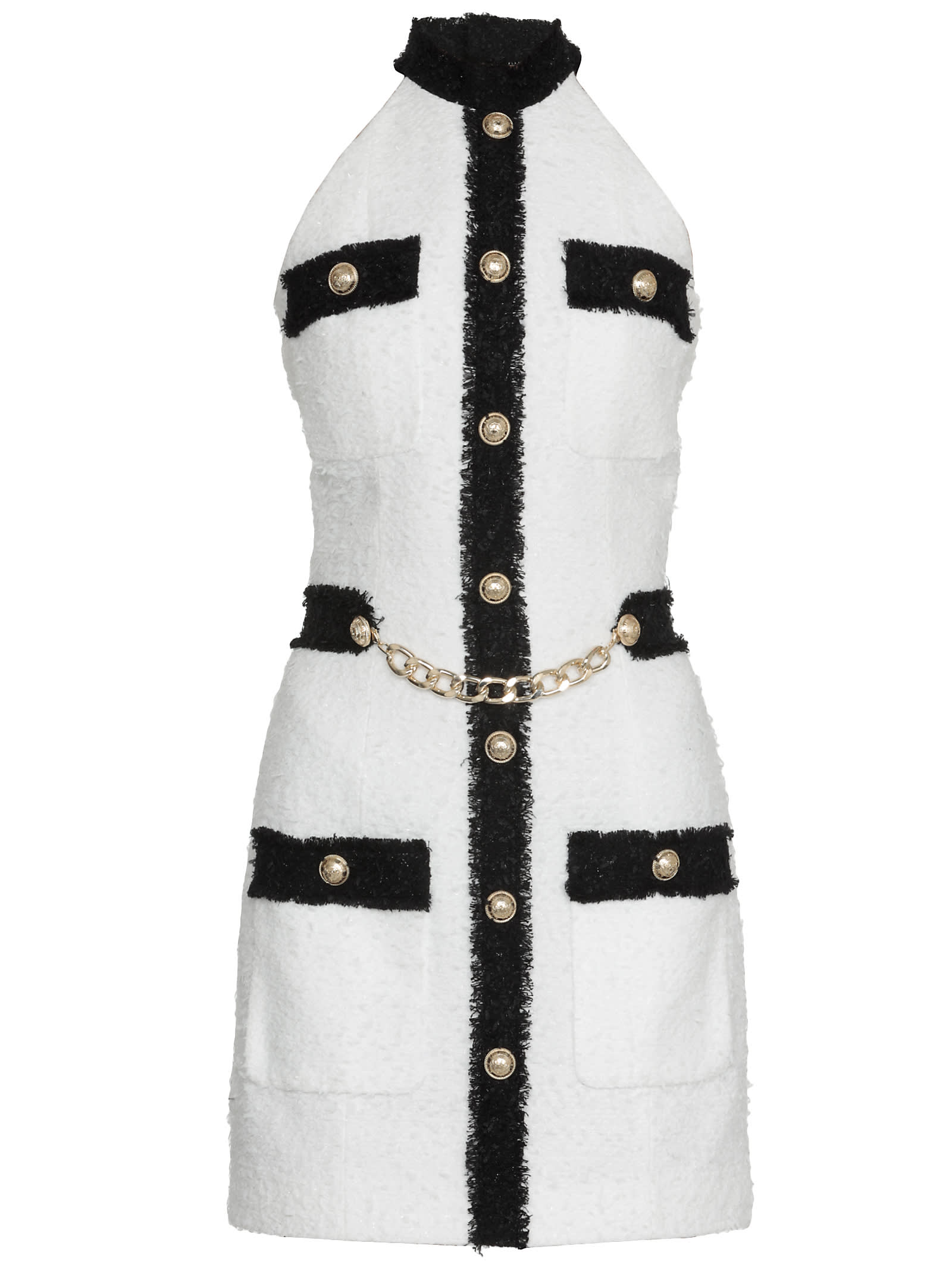 Buy Tweed Dress online, shop Balmain with free shipping