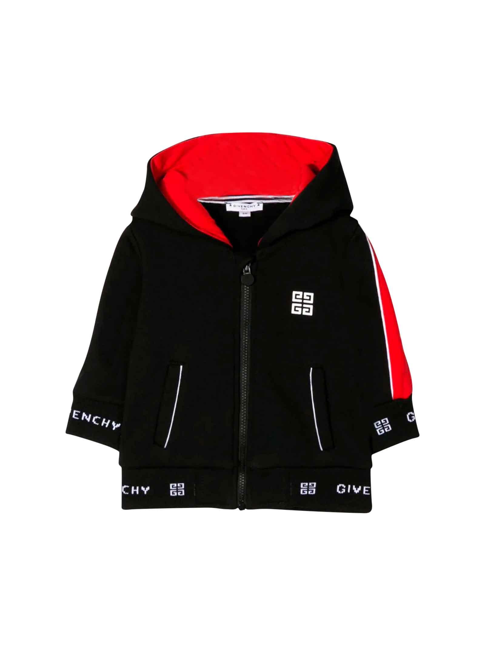 48f5aabb2822c Givenchy Givenchy Black Sweatshirt Baby - Nero - 11009705 | italist