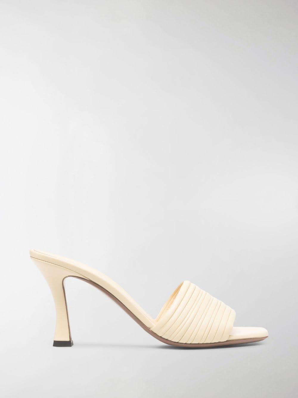 Neous LEATHER SHARM MULES