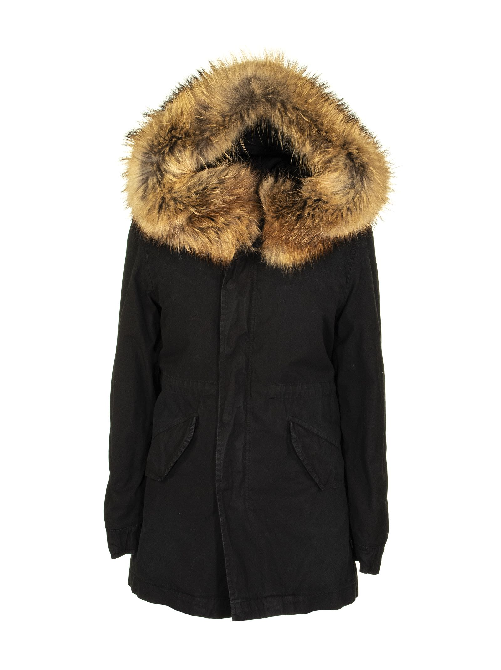 Mr & Mrs Italy Warm Parka Black