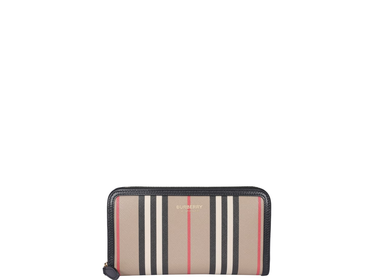 BURBERRY CHECK MOTIF WALLET