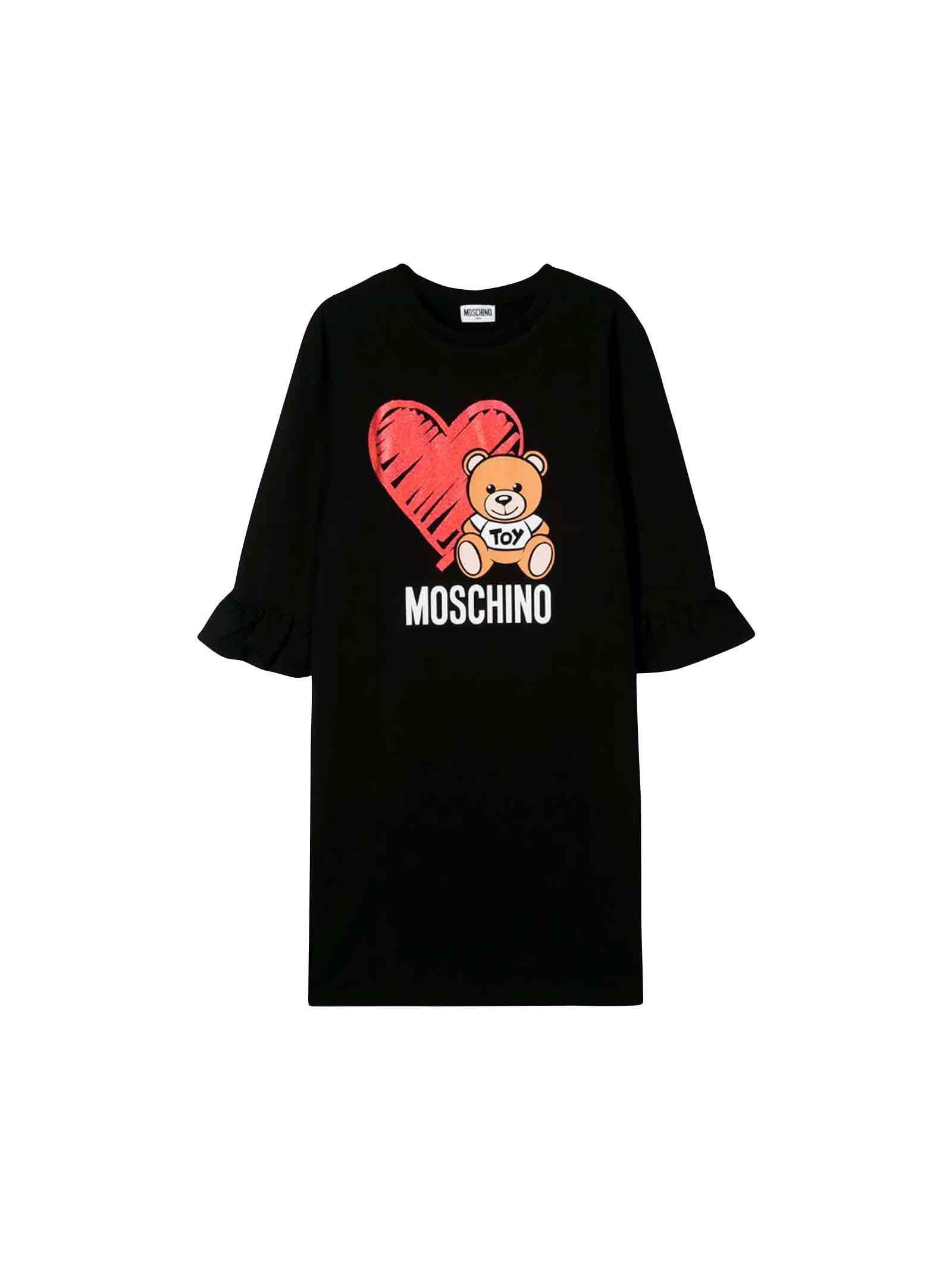 Moschino Black Dress Teen