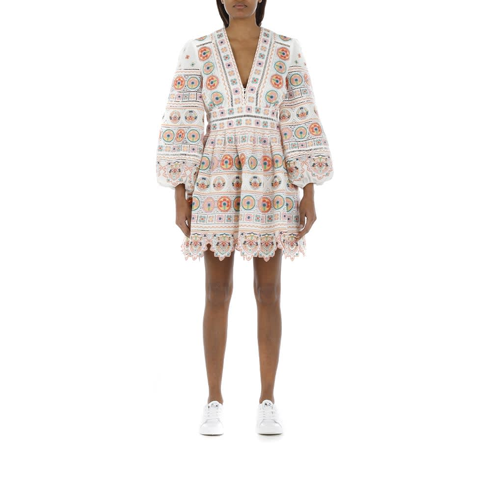 Buy Brighton Plunge Dress online, shop Zimmermann with free shipping