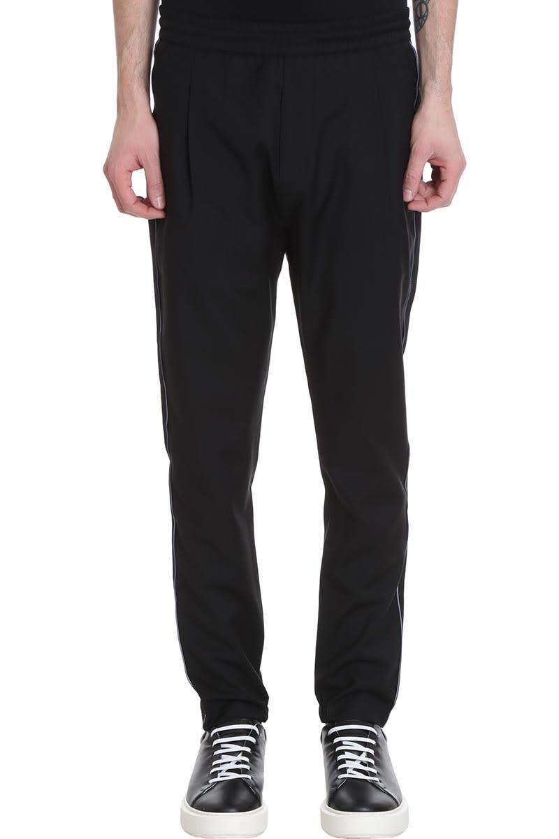 Low Brand T4.31 Pants In Black Wool