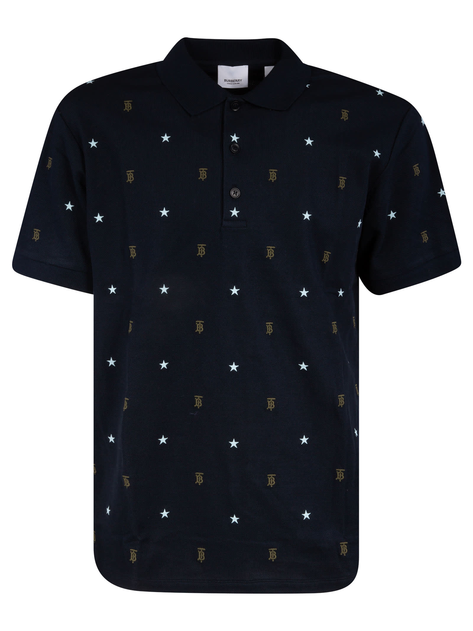 Logo Motif Polo Shirt