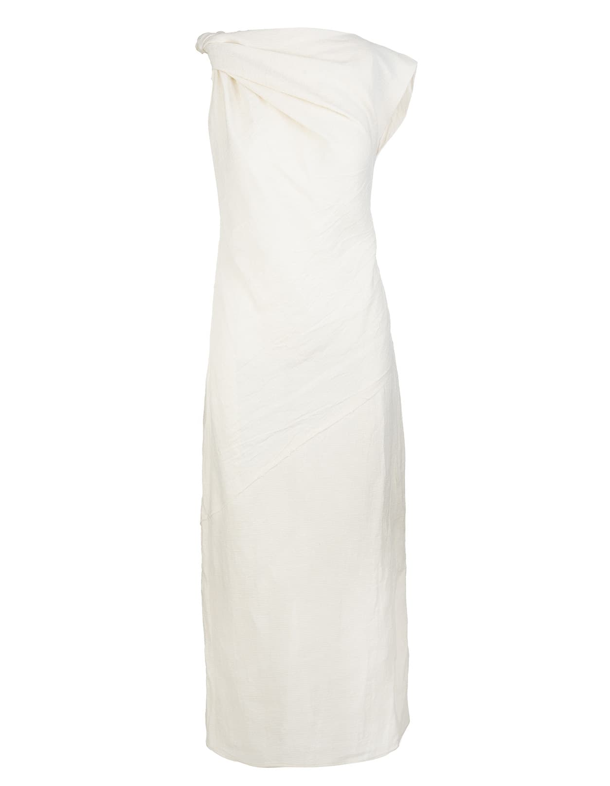 Buy SportMax Ivory Zibello Sheath Dress online, shop SportMax with free shipping