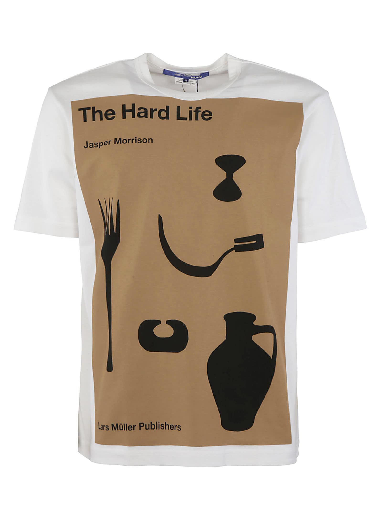Junya Watanabe Clothing THE HARD LIFE PRINTED T-SHIRT