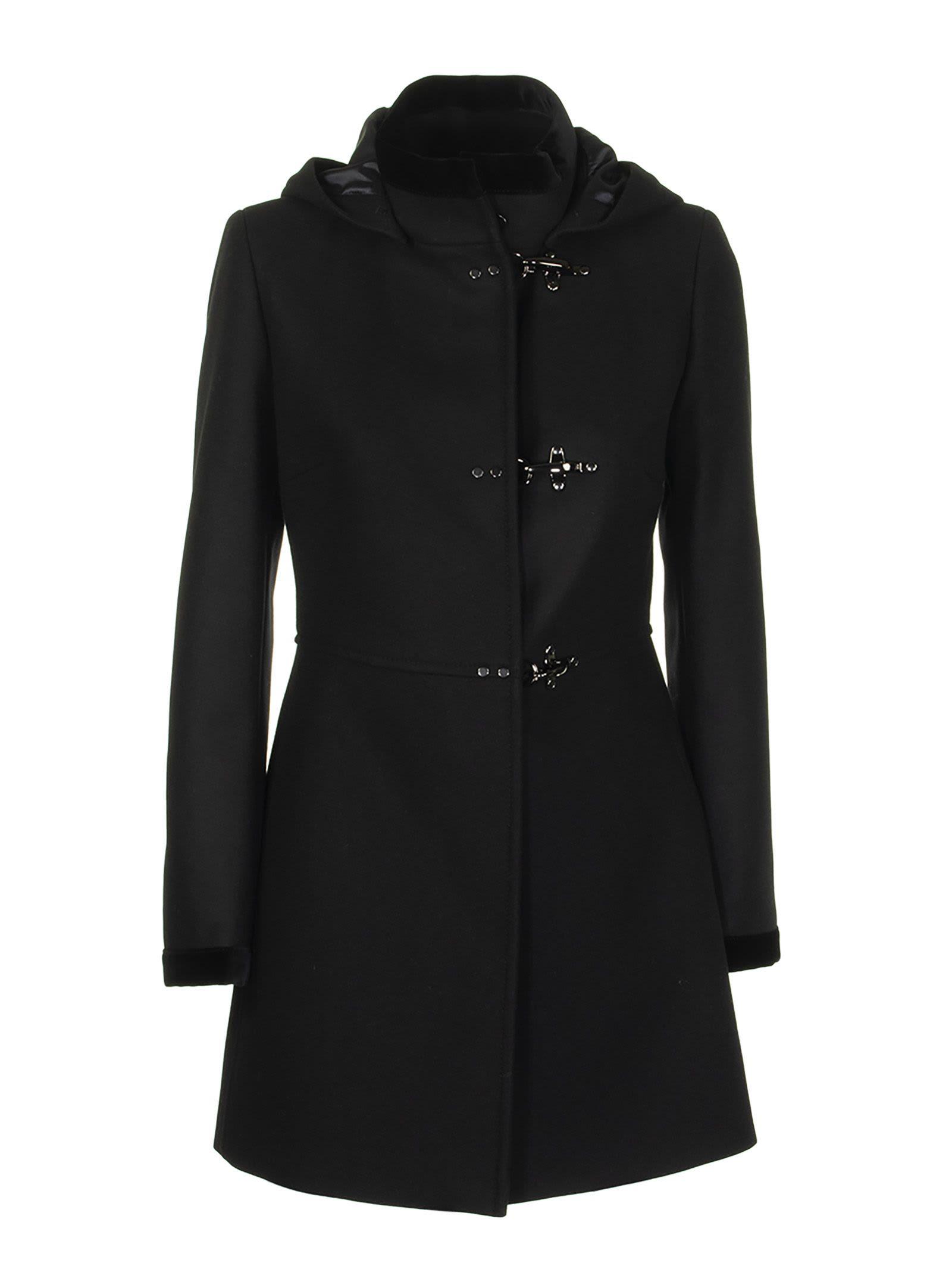 Photo of  Fay Black Coat- shop Fay jackets online sales