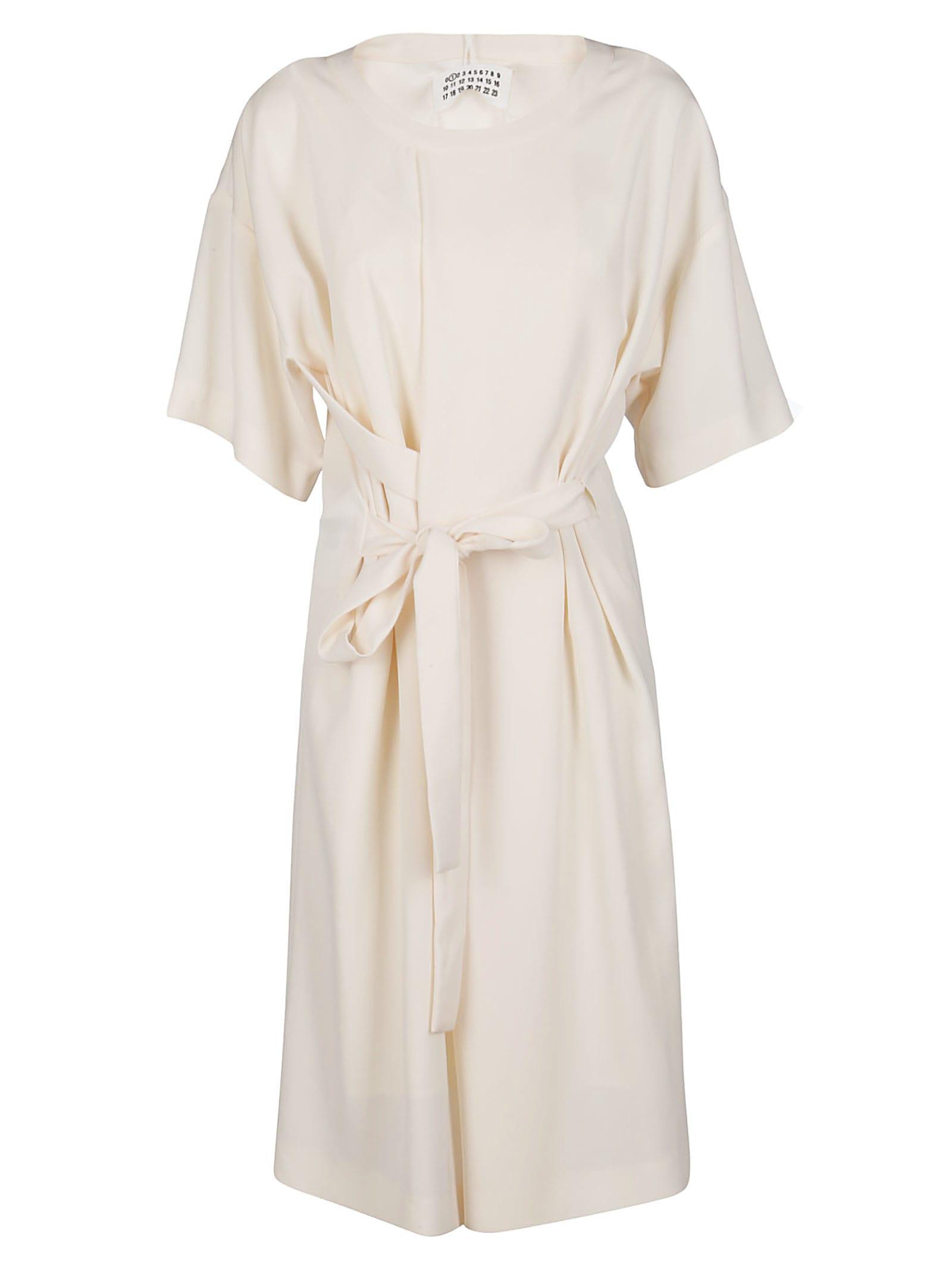 Buy Maison Margiela White Oversized Dress online, shop Maison Margiela with free shipping