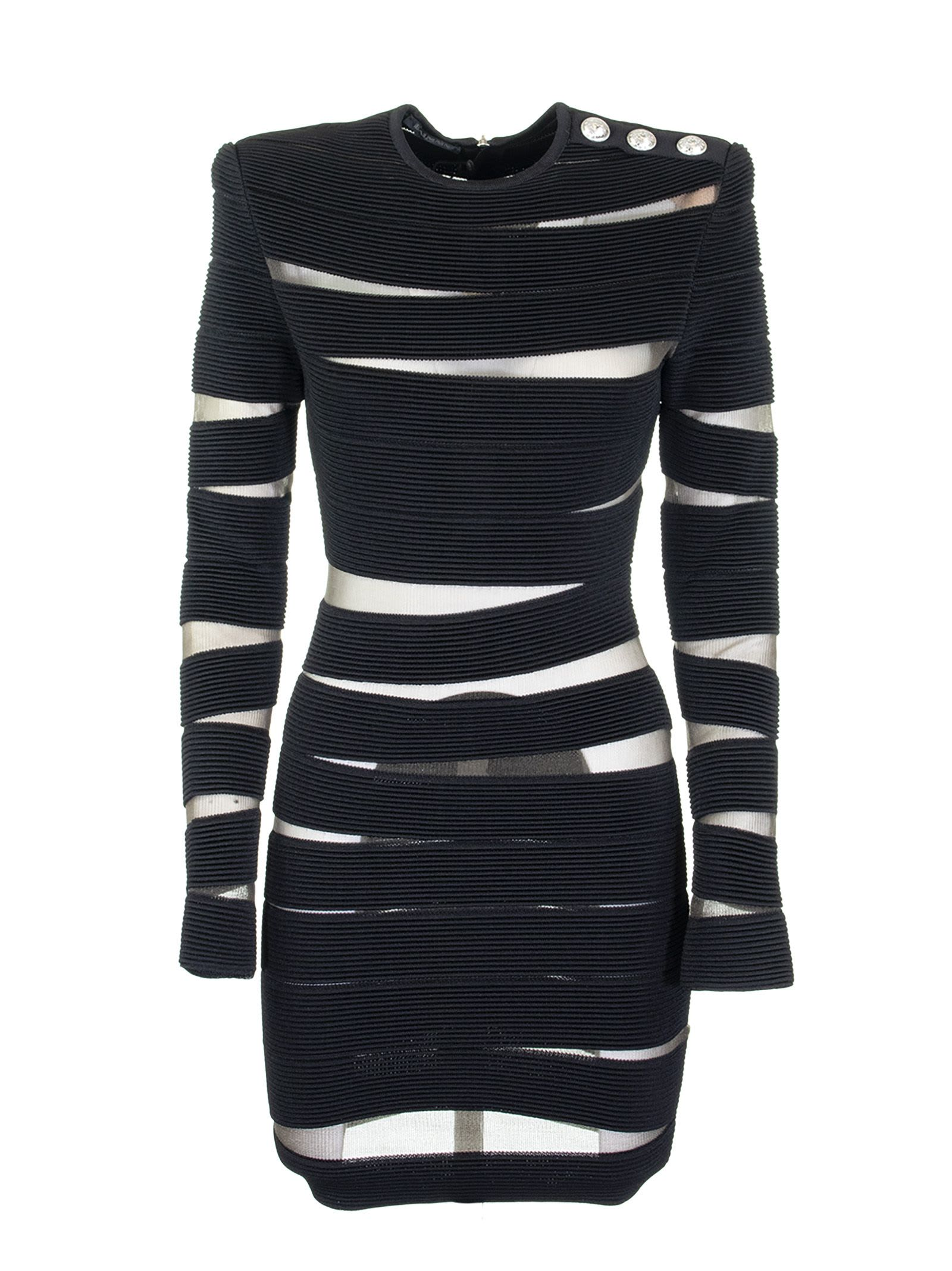 Balmain Dress Noir