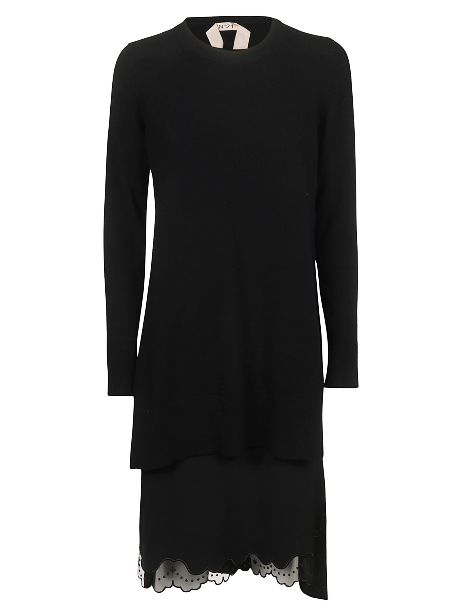 Buy N.21 Long Sleeved Dress online, shop N.21 with free shipping