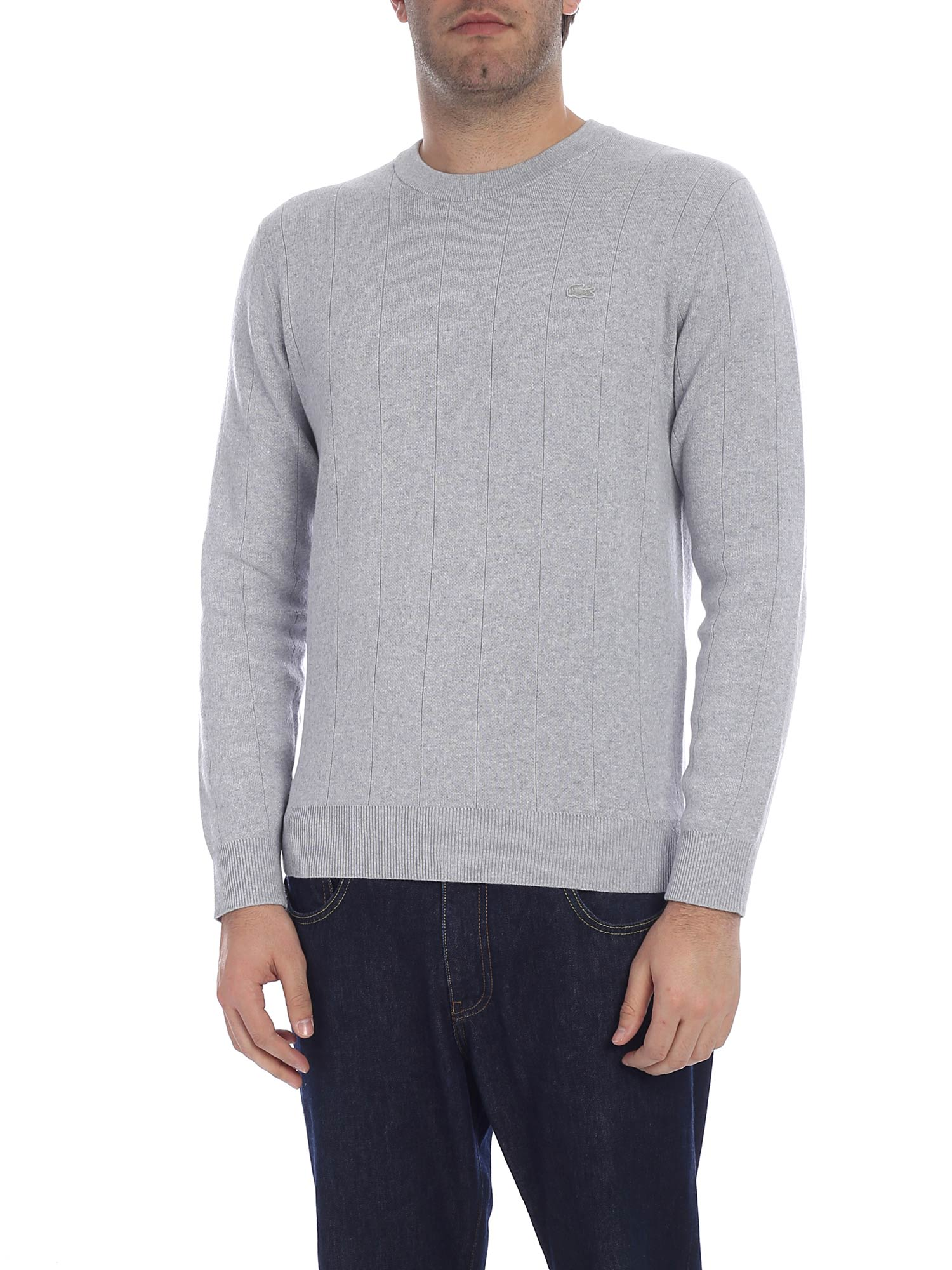 e694bba45d Lacoste Cotton And Cashmere Sweater