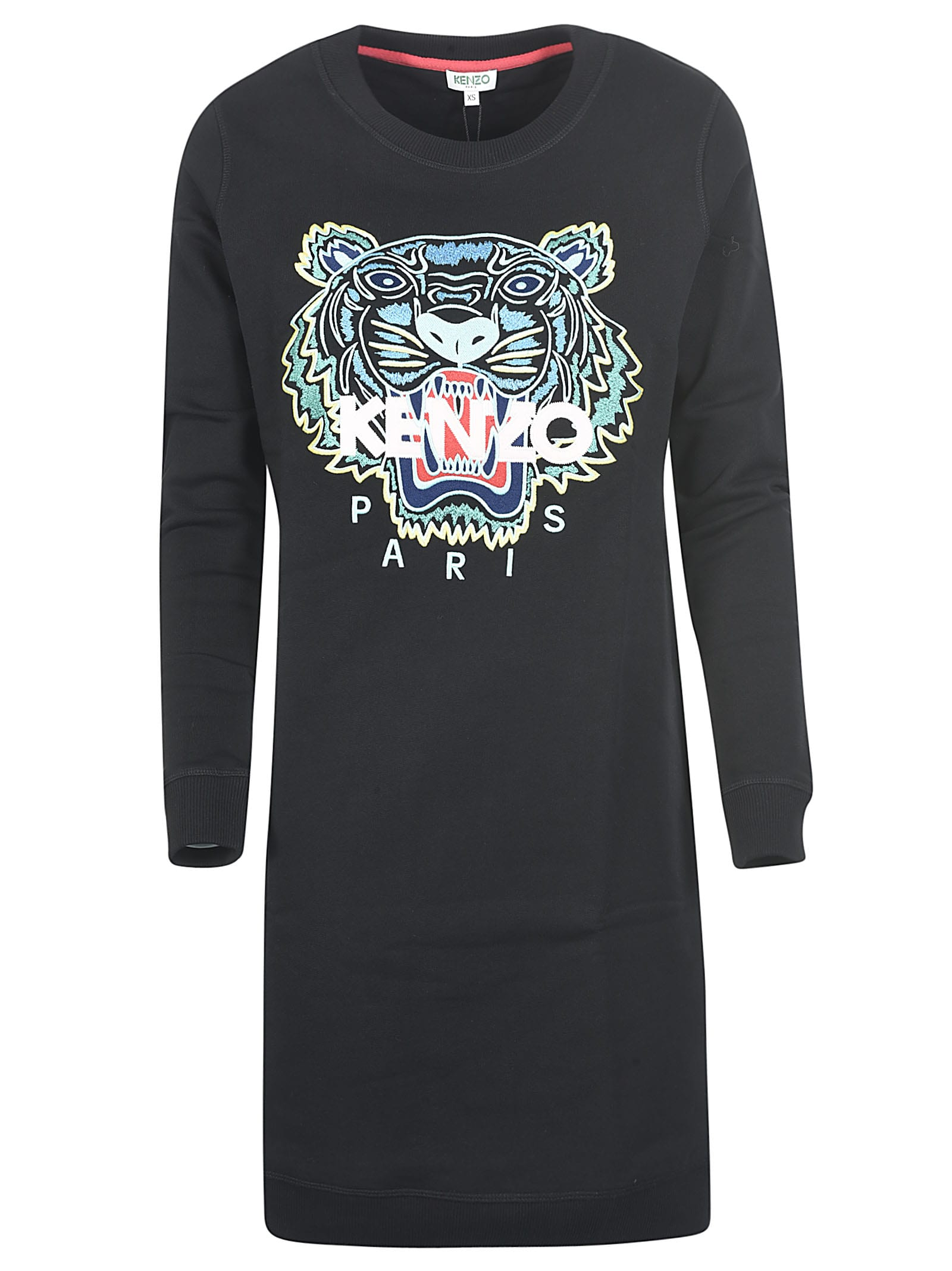 Buy Kenzo Logo Tiger Dress online, shop Kenzo with free shipping