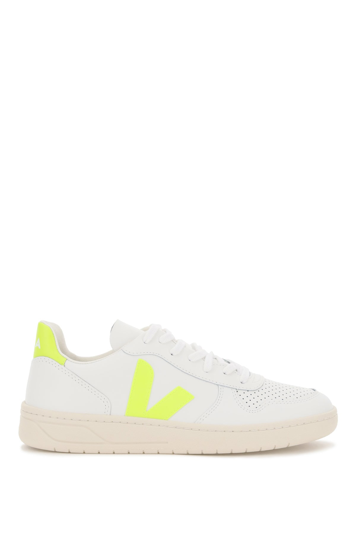 Veja Low tops V-10 LEATHER SNEAKERS