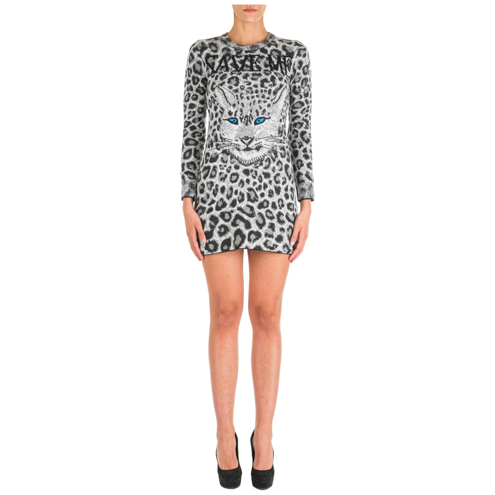Alberta Ferretti Short Mini Dress Long Sleeve Love Me Wild