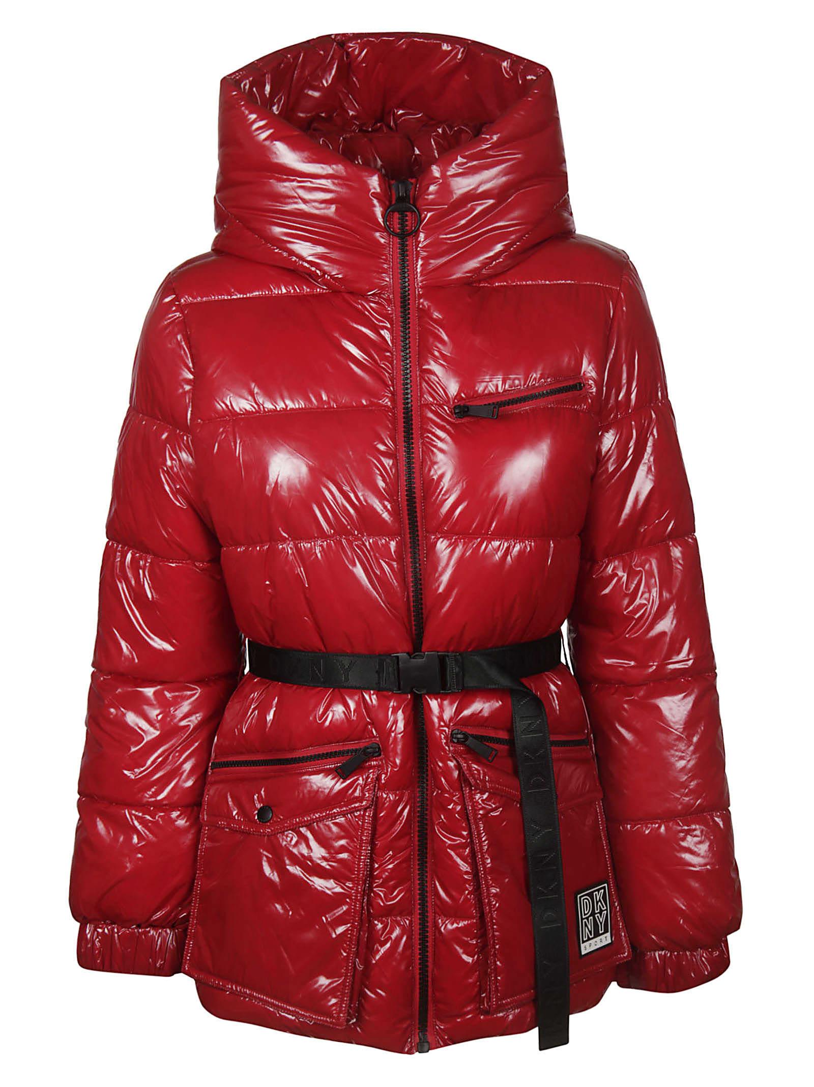 DKNY Hooded Padded Jacket