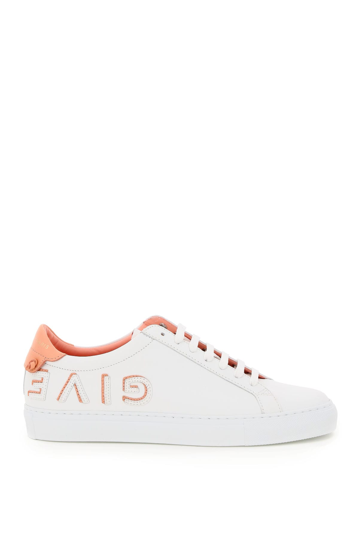 Givenchy Shoes URBAN STREET LEATHER SNEAKERS REVERSO LOGO