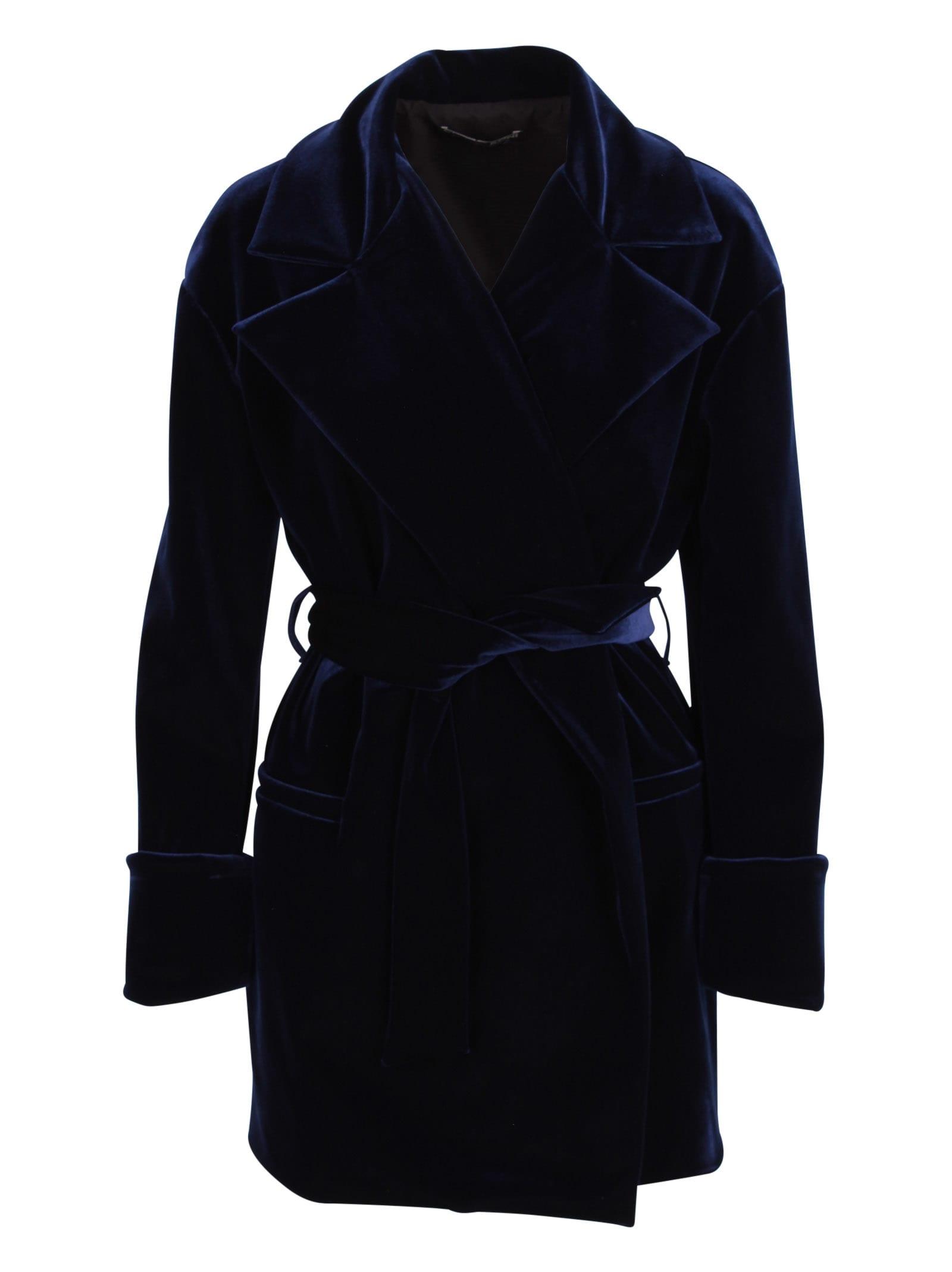 Le Petite Robe Di Chiara Boni Glafira Velvet Jacket