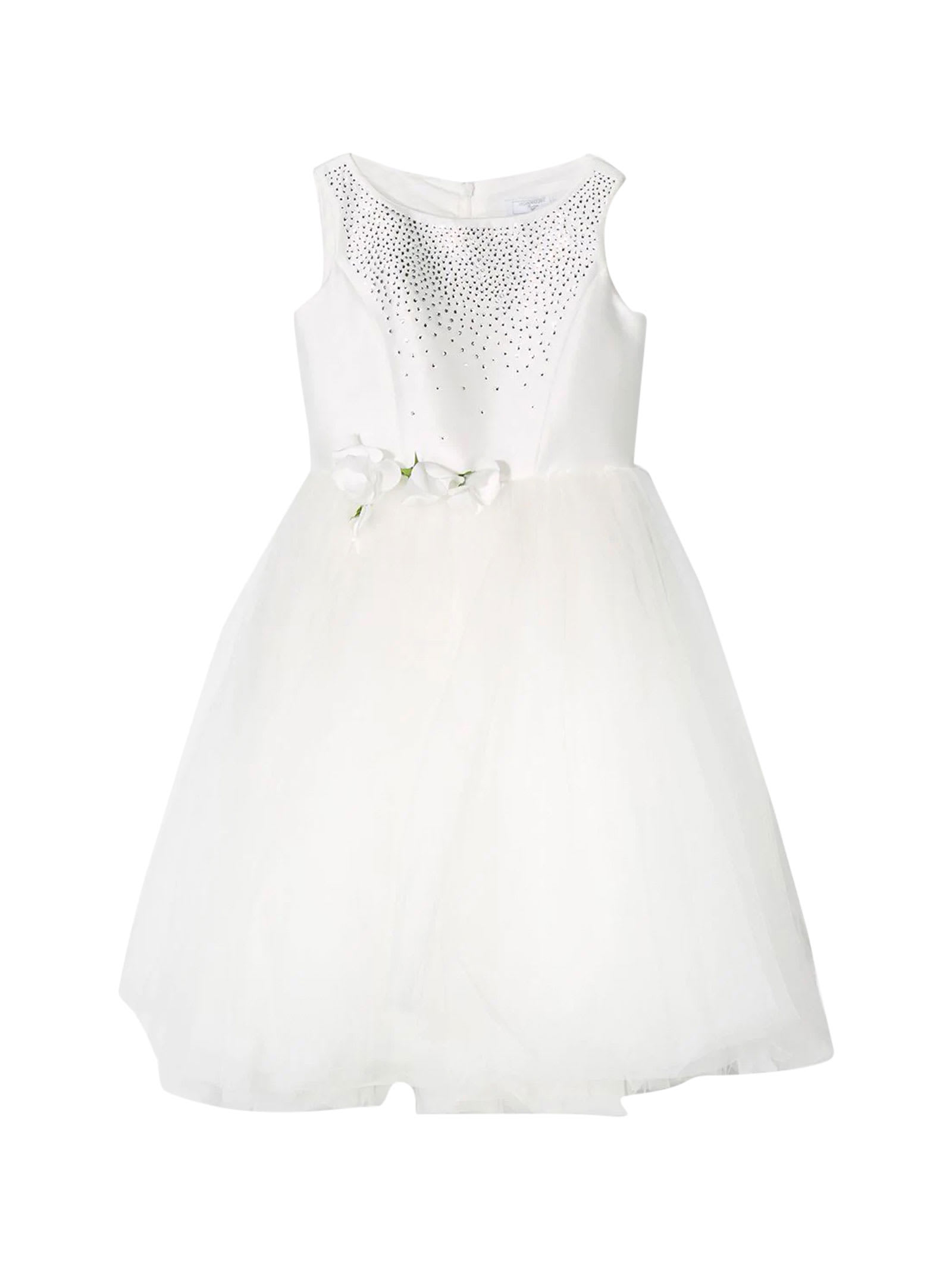 Buy White Dress online, shop Monnalisa with free shipping