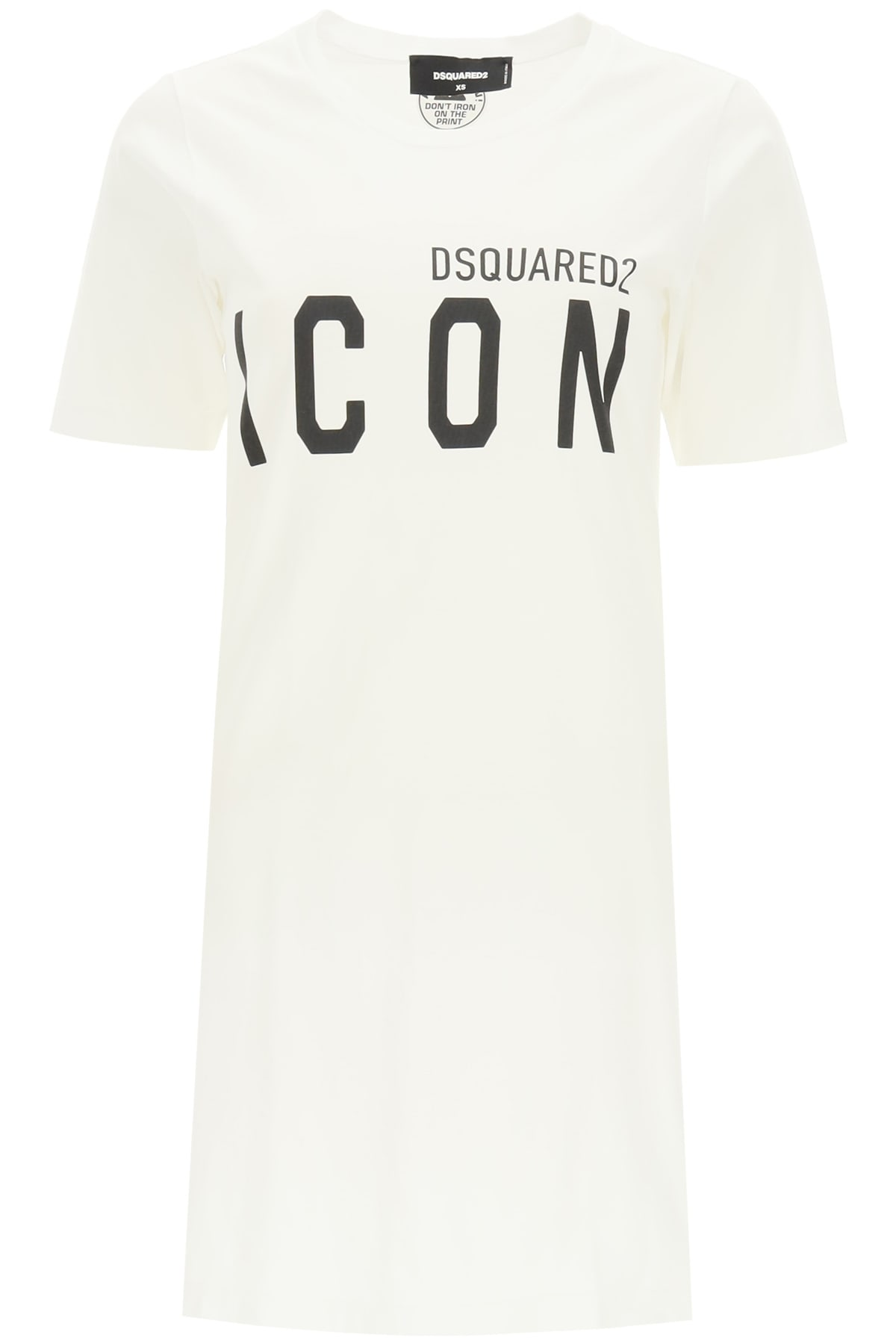 Buy Icon Print Mini Dress online, shop Dsquared2 with free shipping