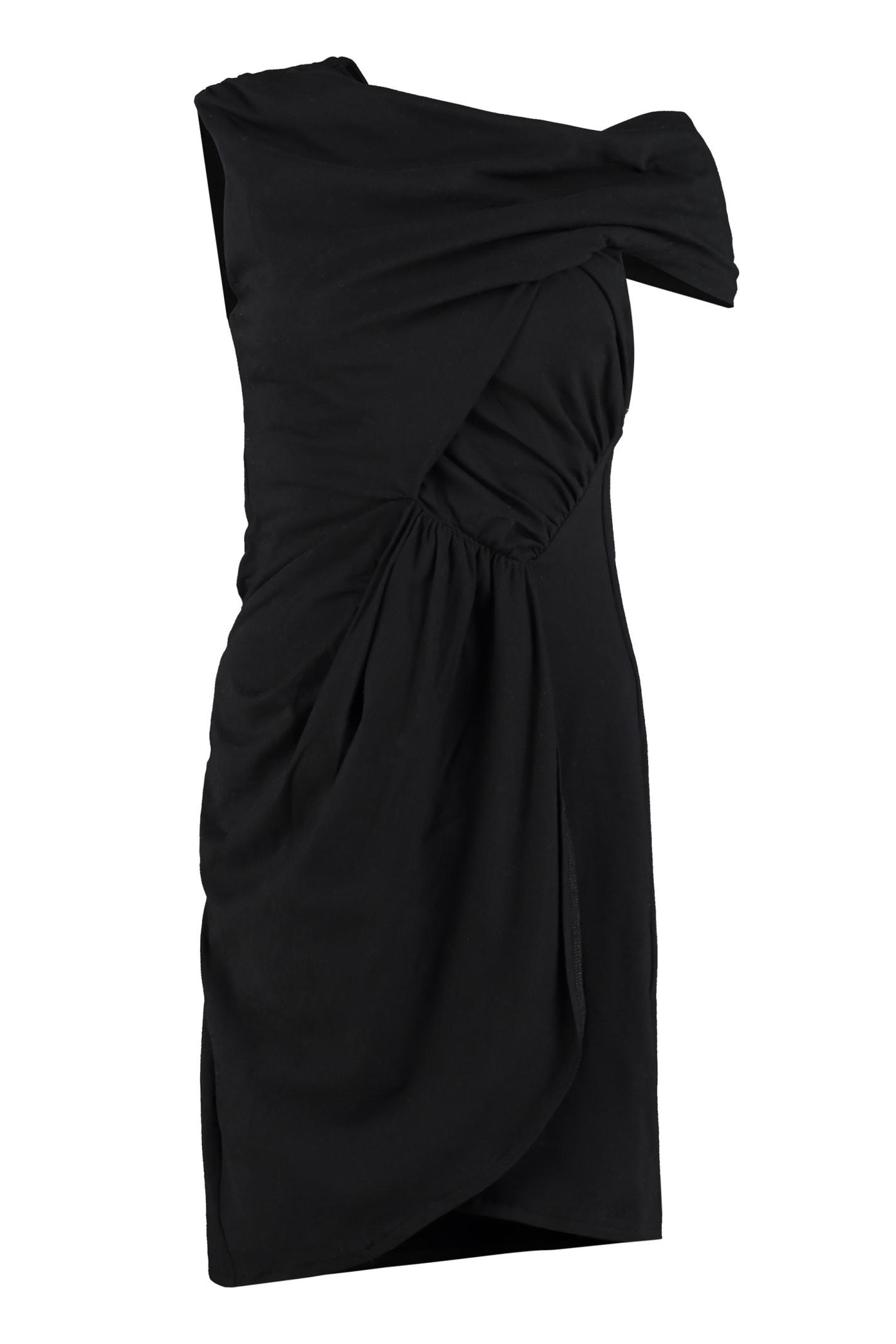 Buy IRO Ermett Draped Jersey Dress online, shop IRO with free shipping