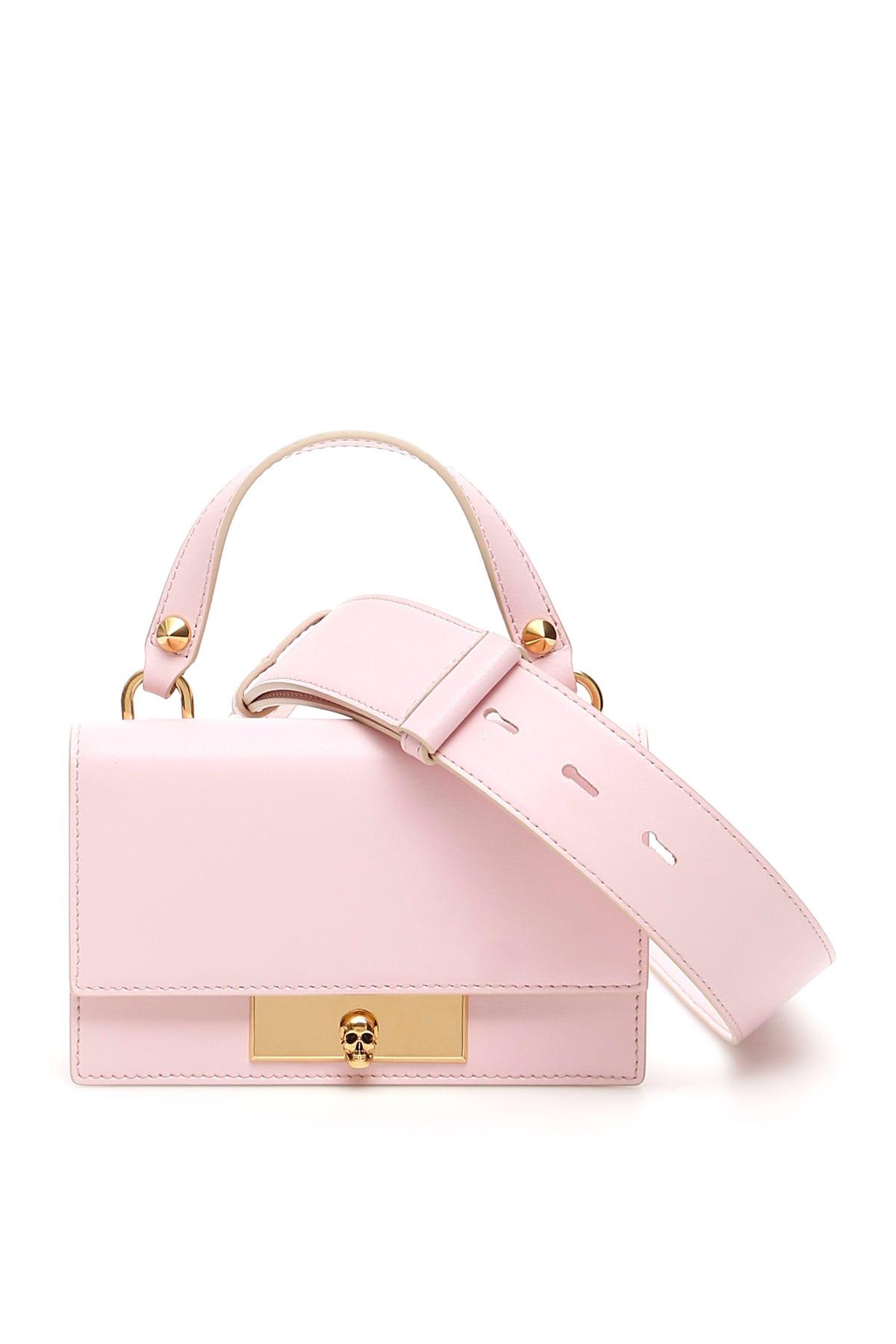 Alexander McQueen Skull Lock Mini Bag