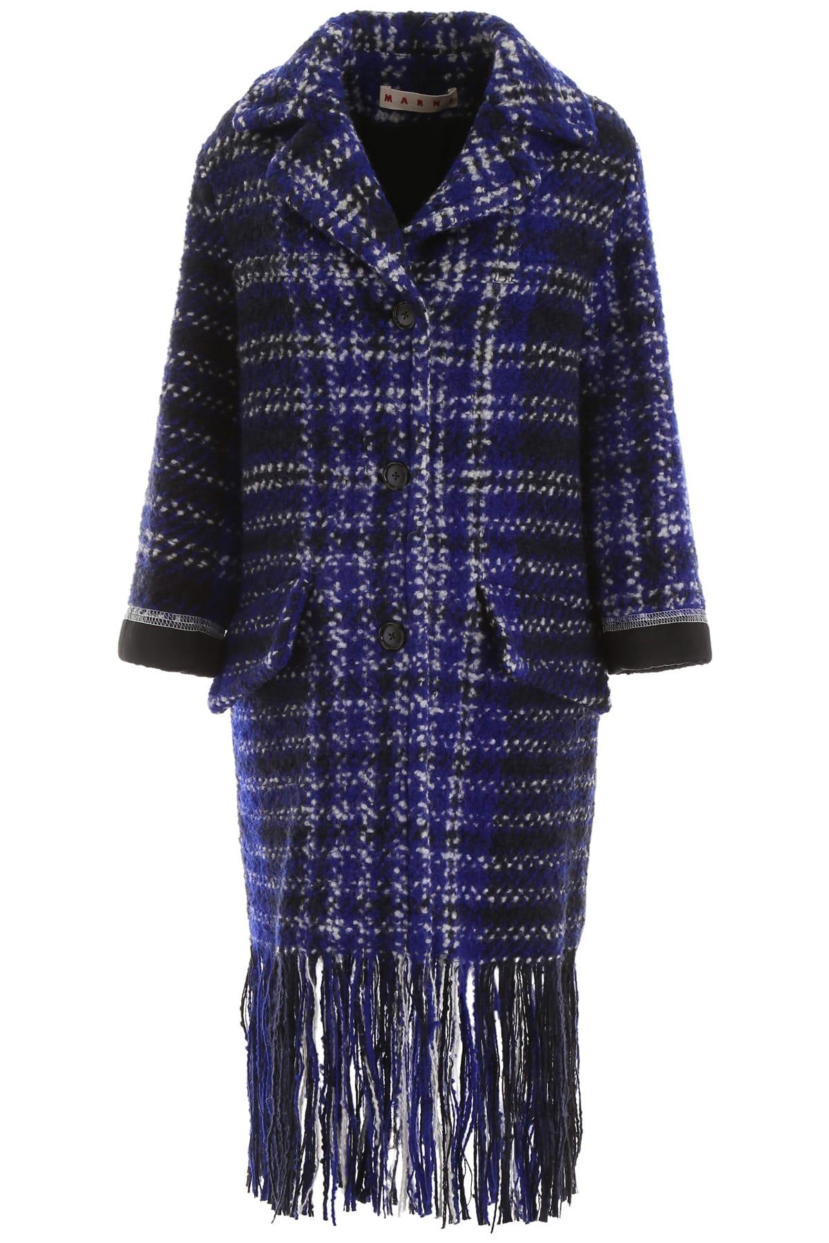 Marni Fringed Coat